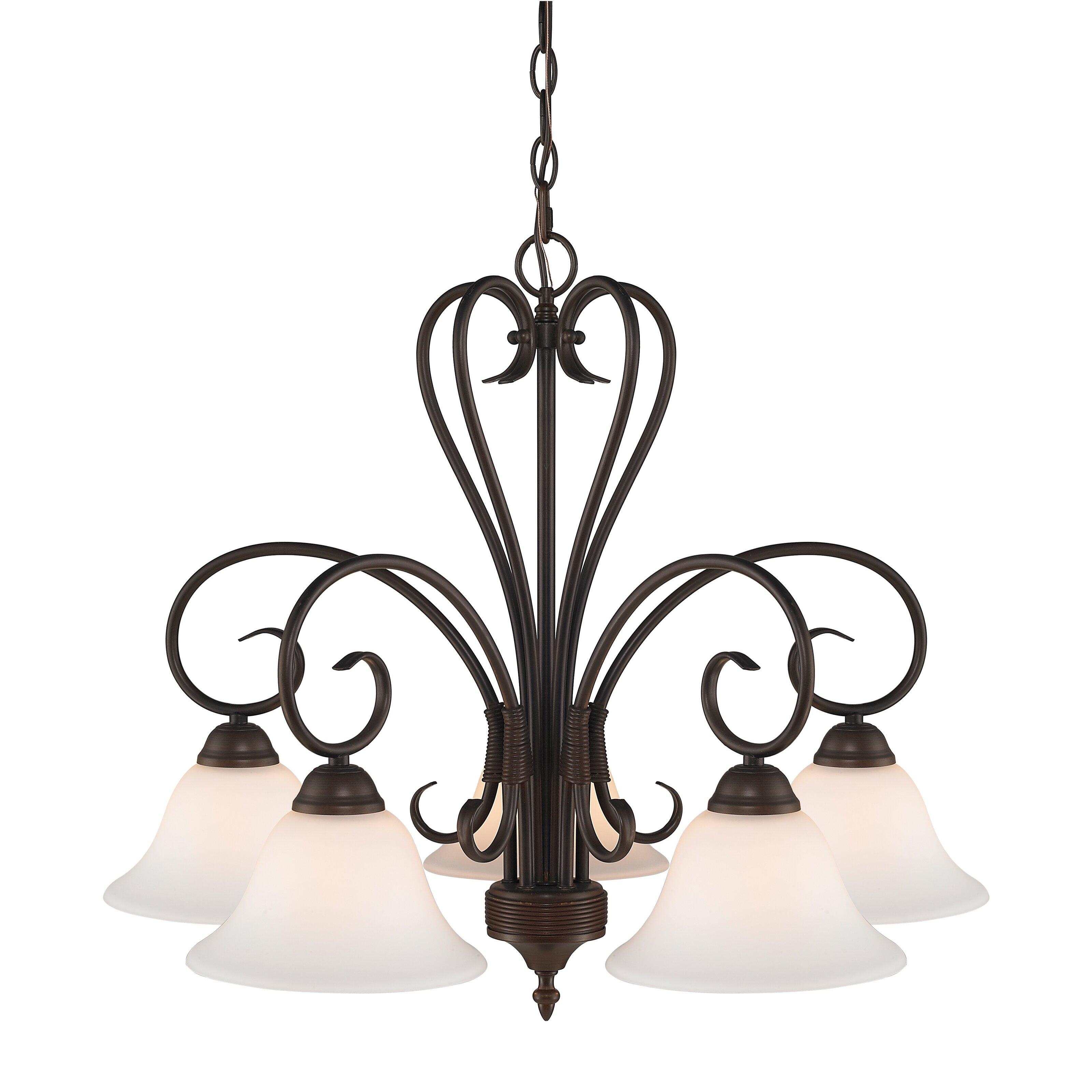 Wildon Home ® Sienna 5 Light Nook Chandelier & Reviews