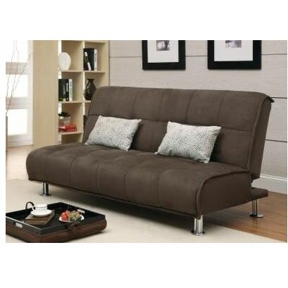 Wildon home r sleeper sofa reviews wayfair for Wildon home bailey microfiber sectional sofa with chaise on left