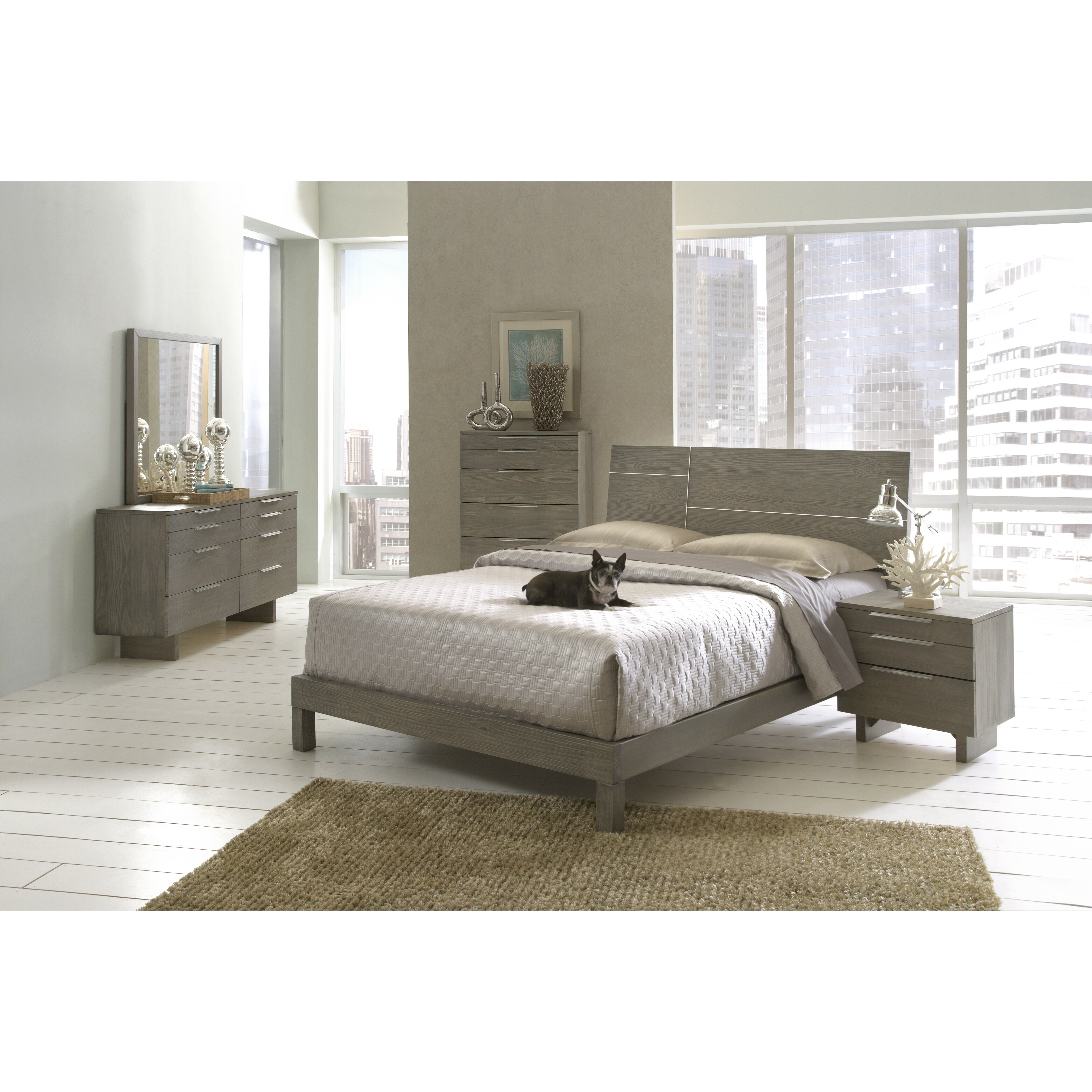 Wildon home violet platform customizable bedroom set for Bedroom sets with mattress