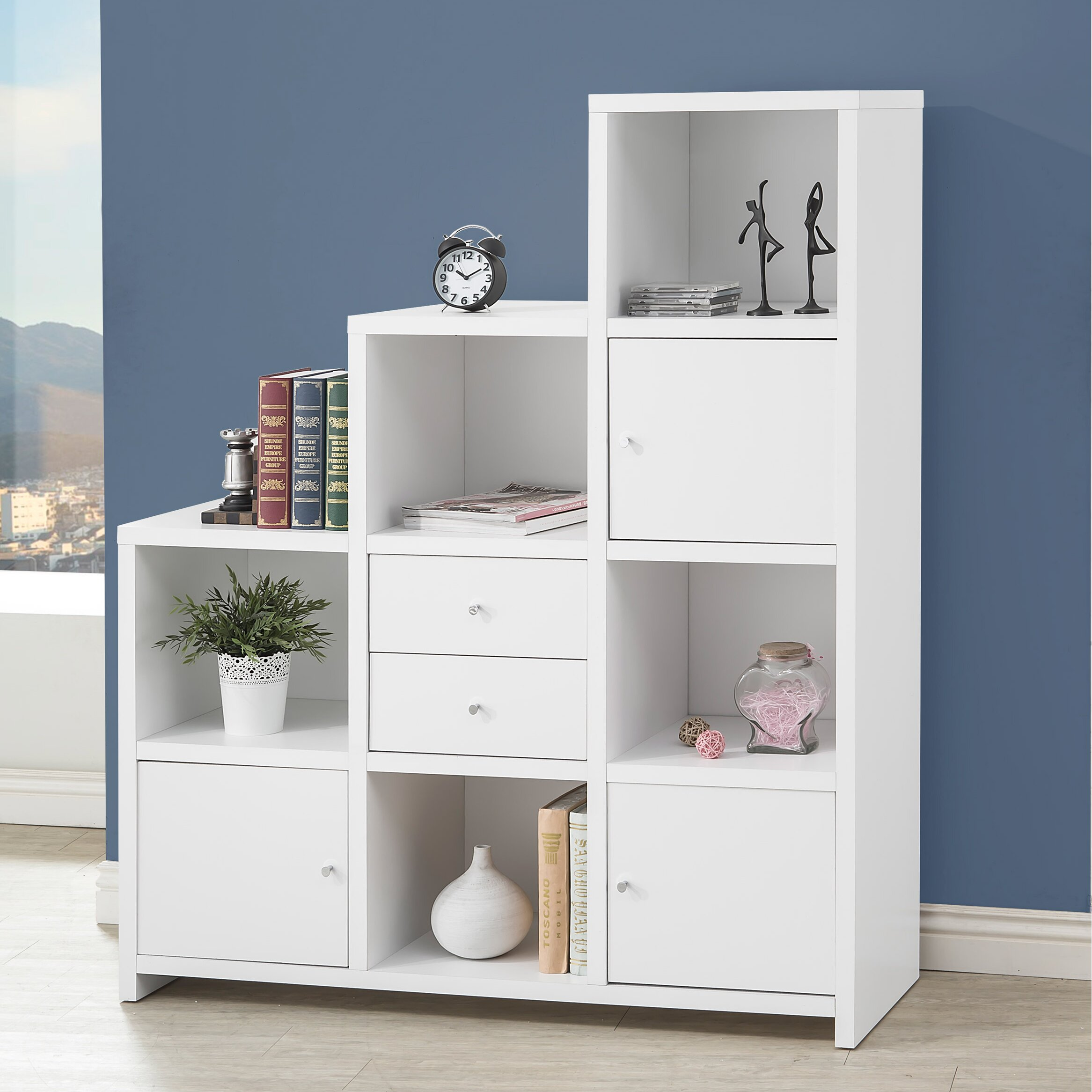 Wildon Home 63 Cube Unit Bookcase Reviews Wayfair