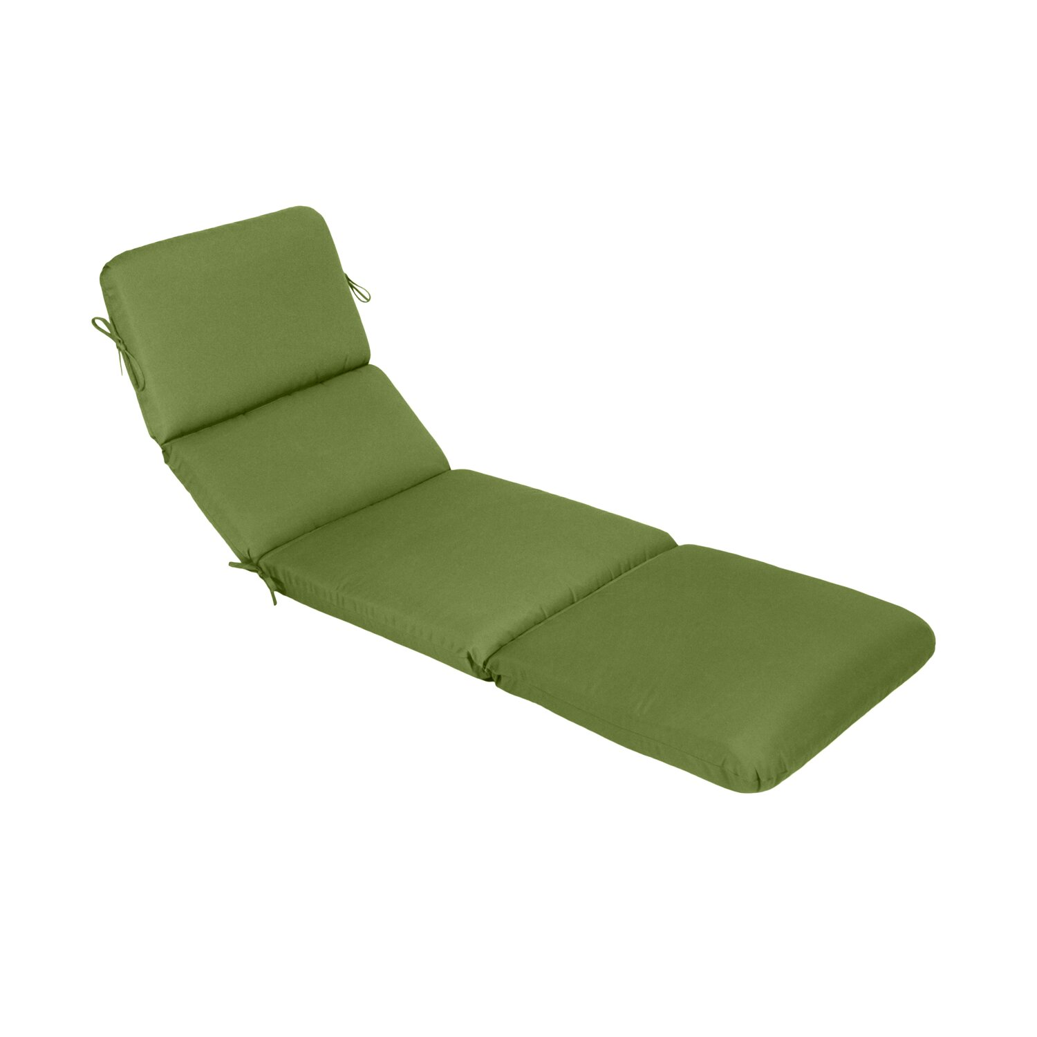 Wildon home saratoga outdoor sunbrella chaise lounge for Chaise cushion sale