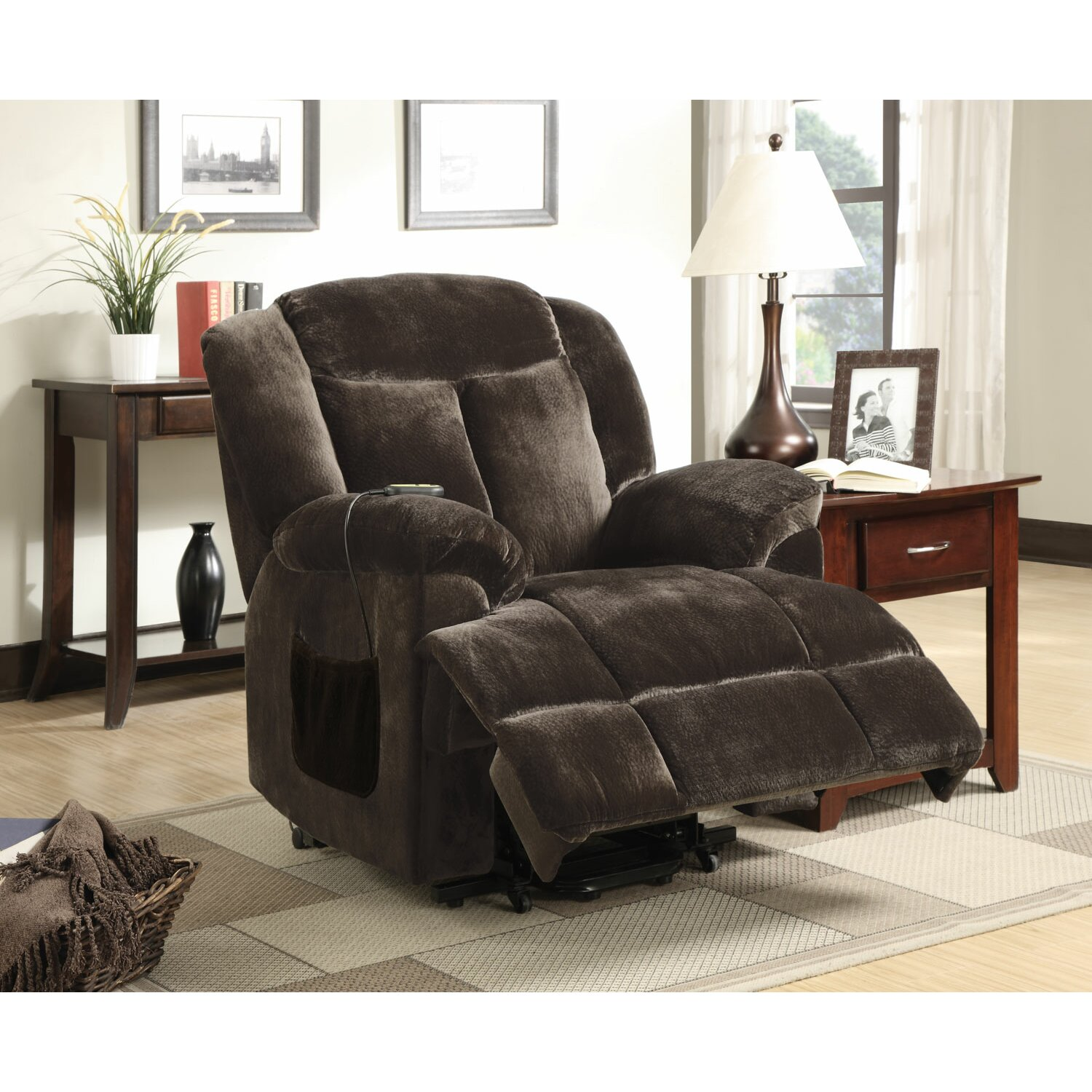Wildon Home Power Lift Recliner Reviews Wayfair