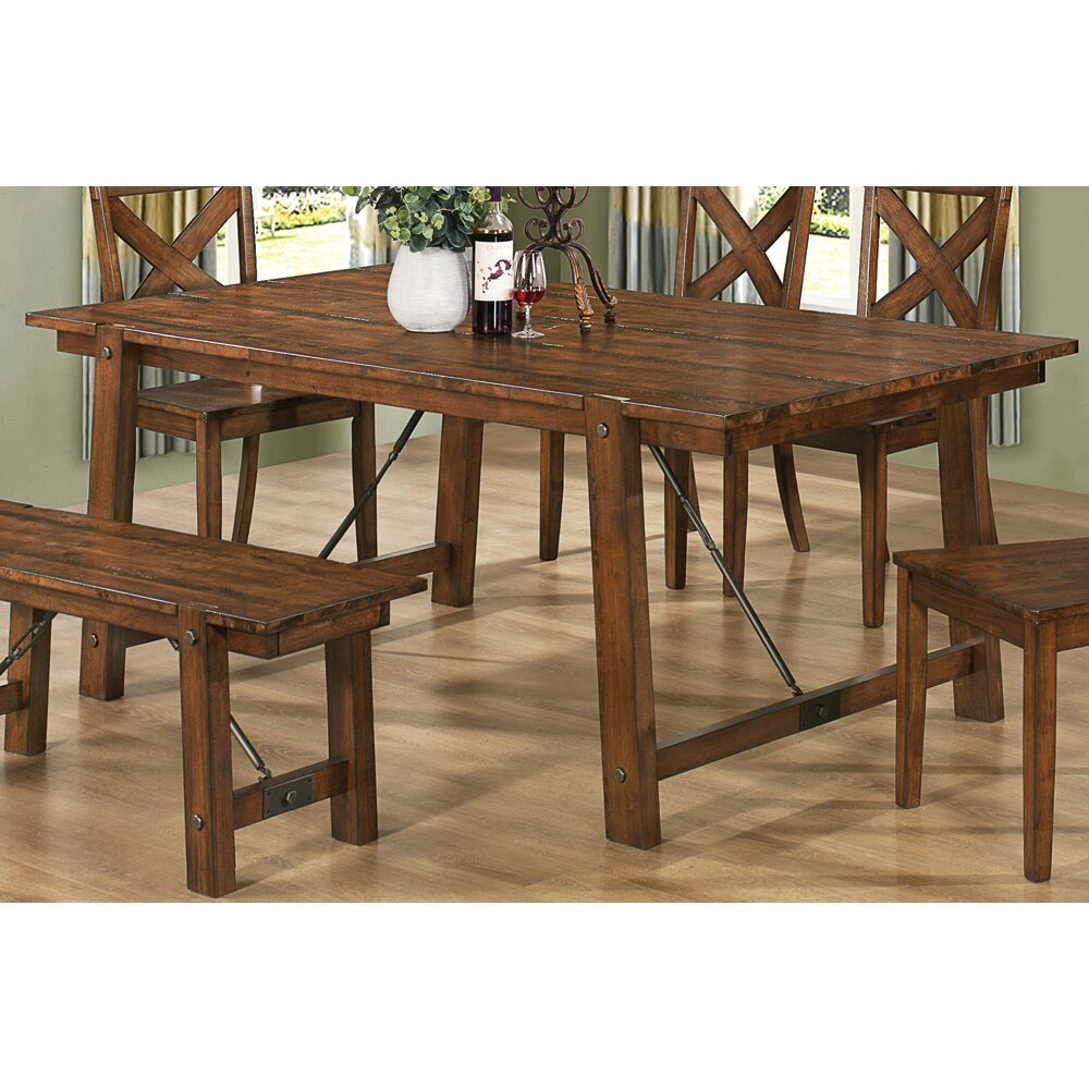 Shop Coaster Fine Furniture Nelms Walnut Round Dining: Wildon Home ® Tyler Dining Table & Reviews