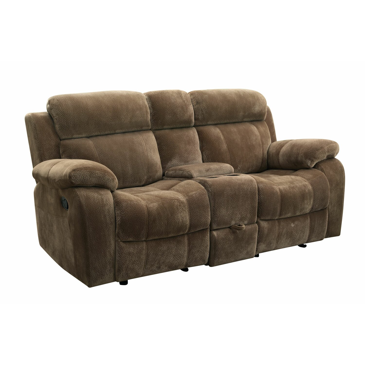 Wildon Home Victor Double Reclining Loveseat Reviews Wayfair