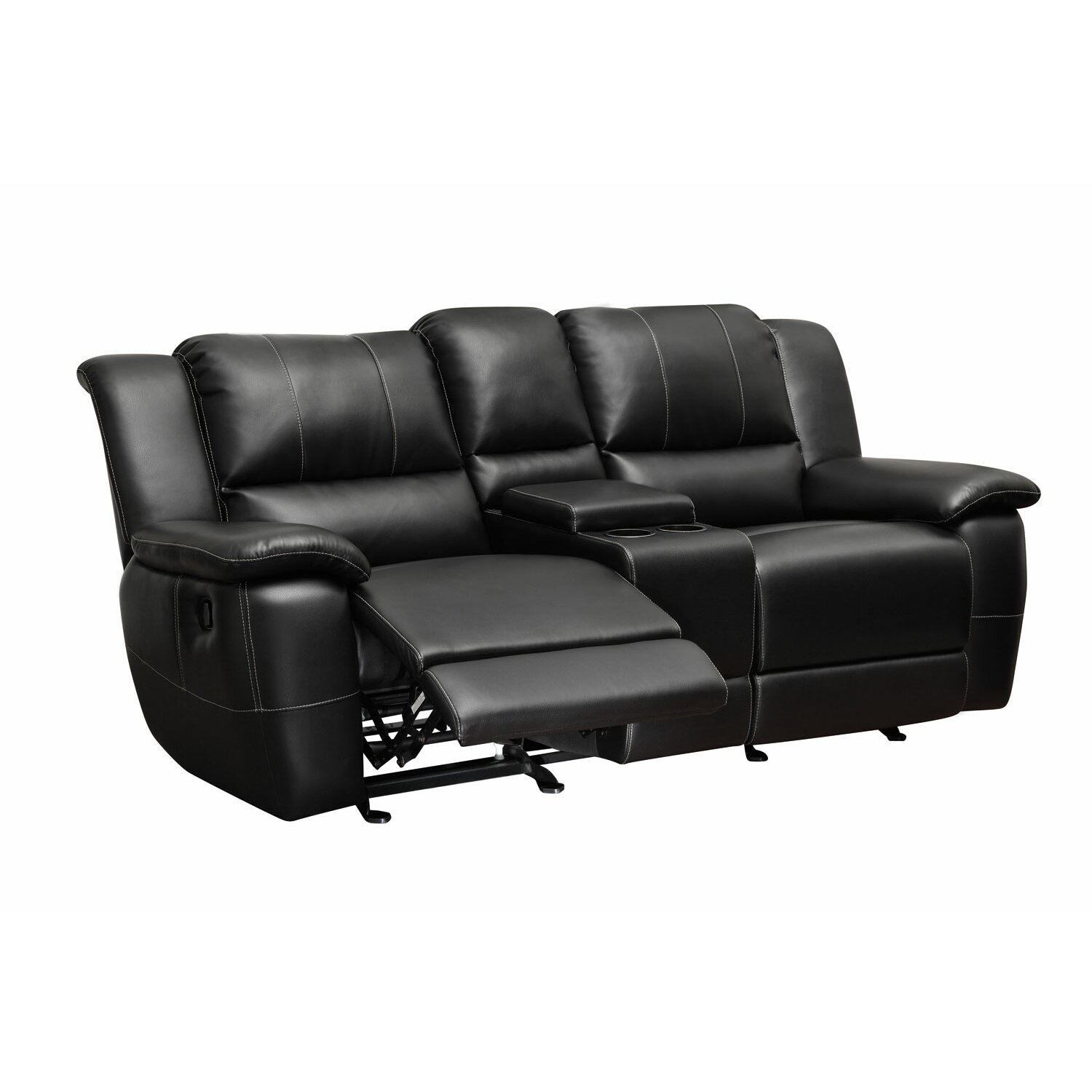 Wildon home robert double reclining loveseat reviews for Affordable furniture 290