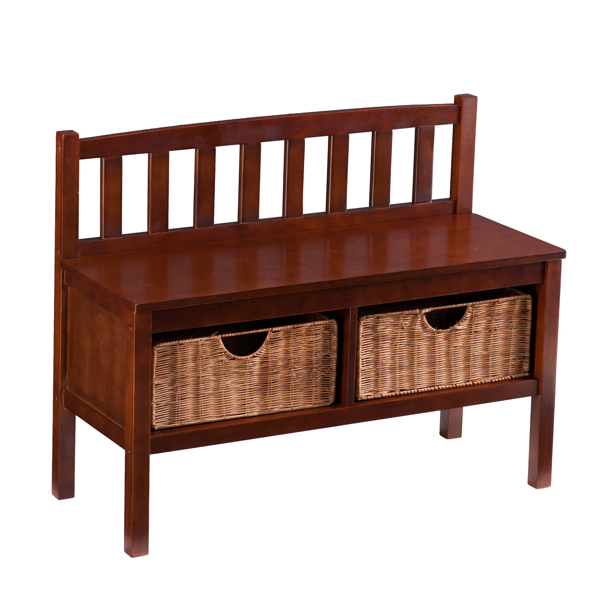 Wildon Home Espresso Storage Bench Reviews