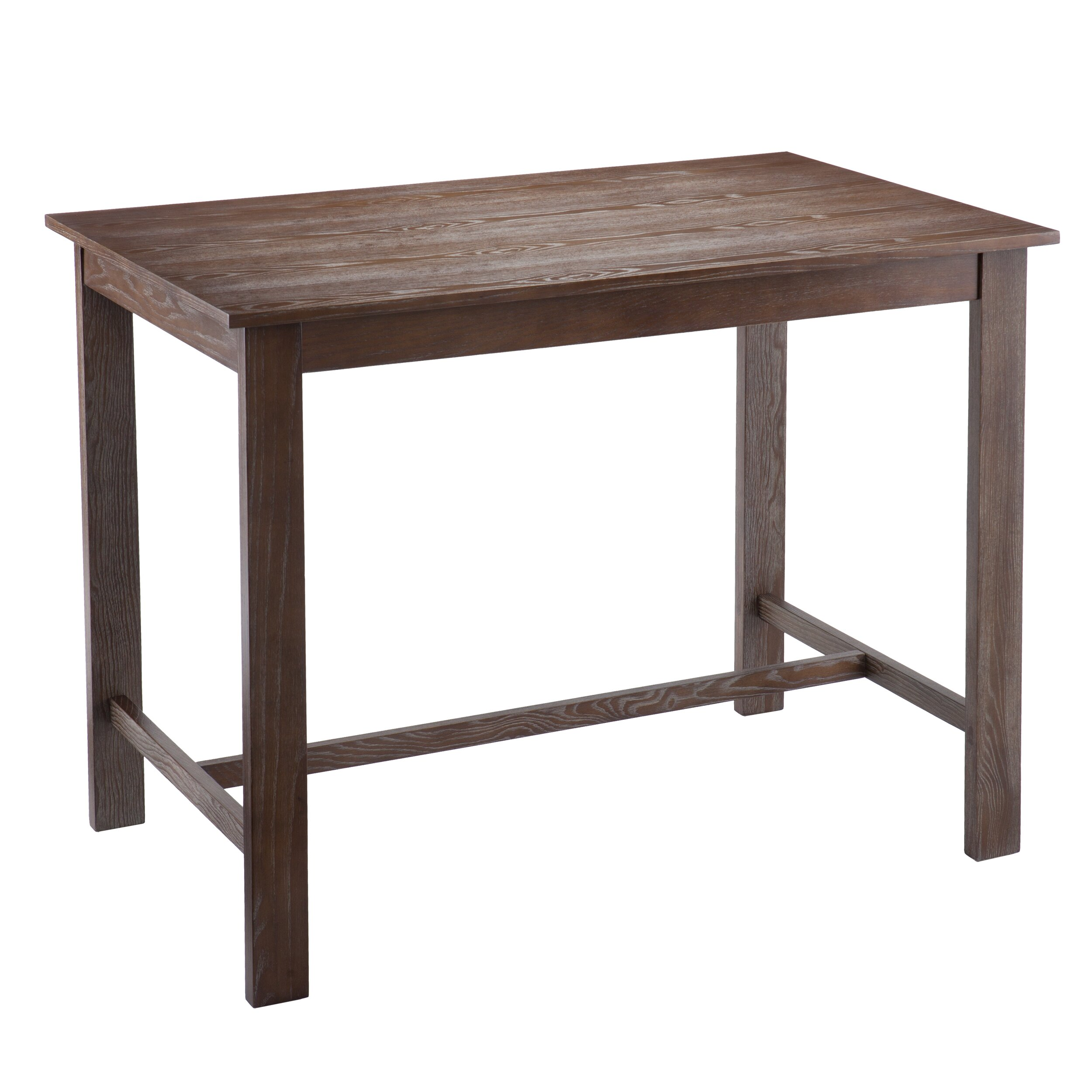 Wildon home conway counter height dining table reviews for Tall breakfast table