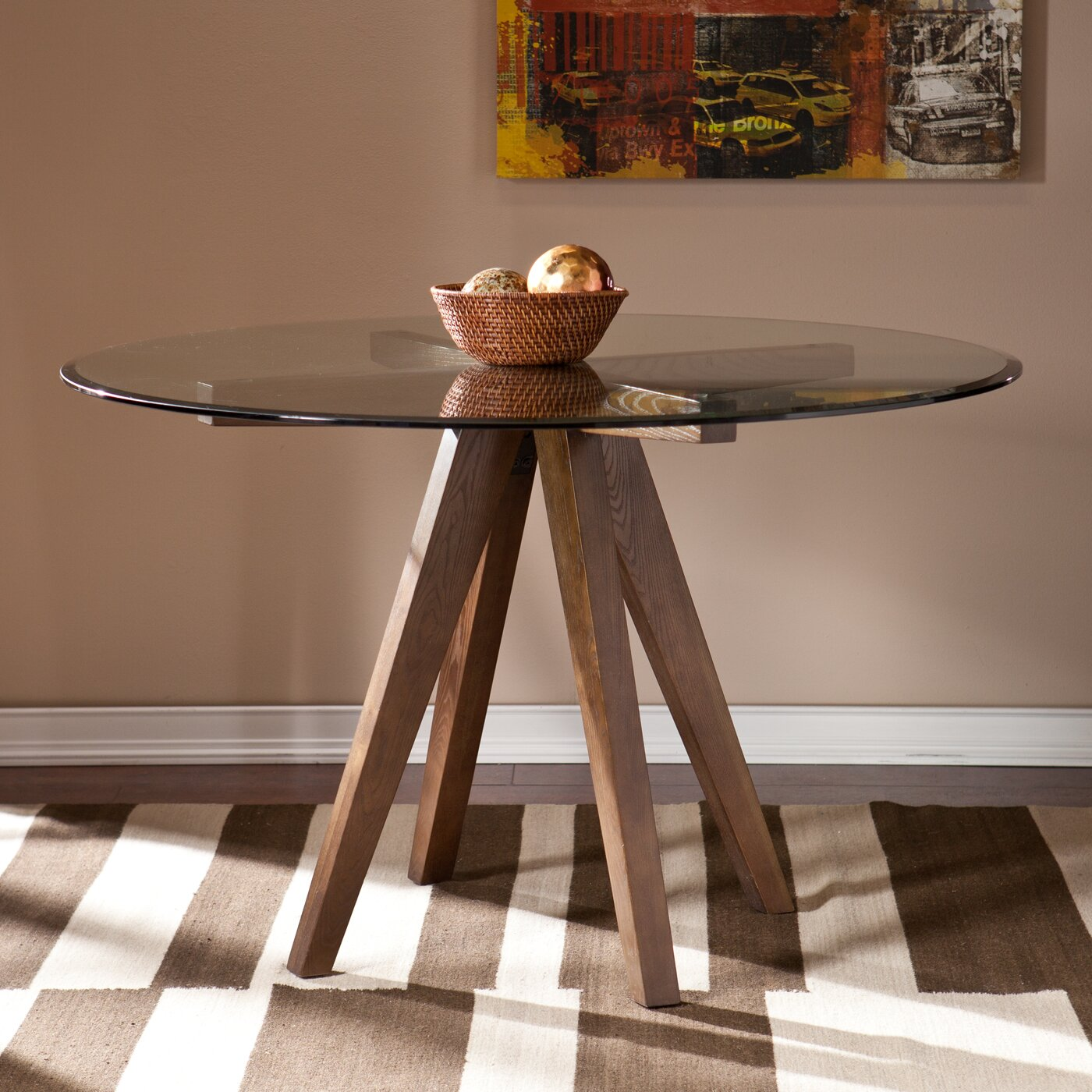 Wildon home kenzy dining table reviews wayfair for Wildon home dining