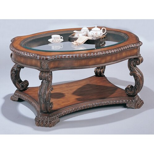 Wildon home r azusa coffee table reviews wayfair for Wayfair oval coffee table