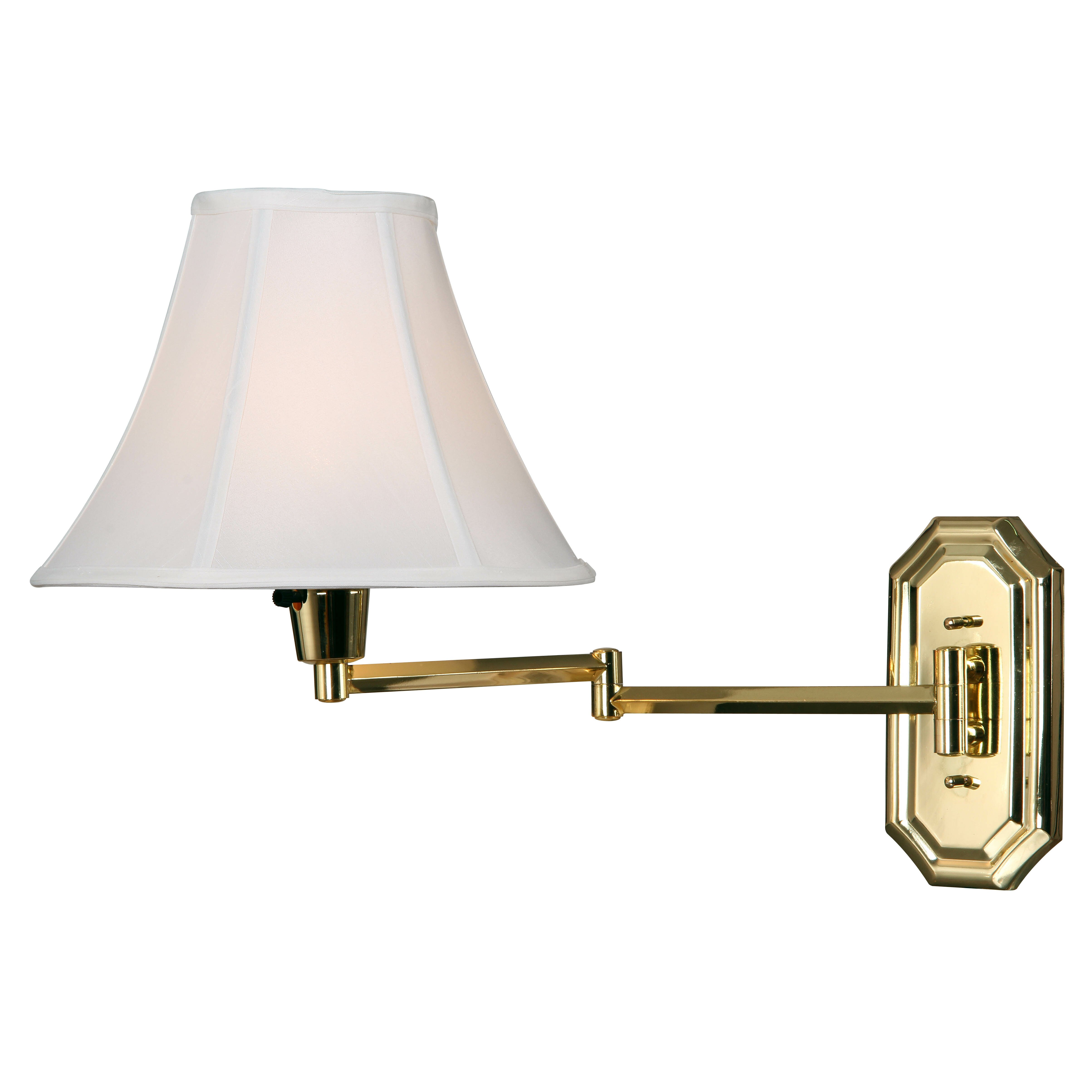 Wall Lamps Swing Arm : Wildon Home Camelia 1 Light Swing Arm Wall Lamp & Reviews Wayfair