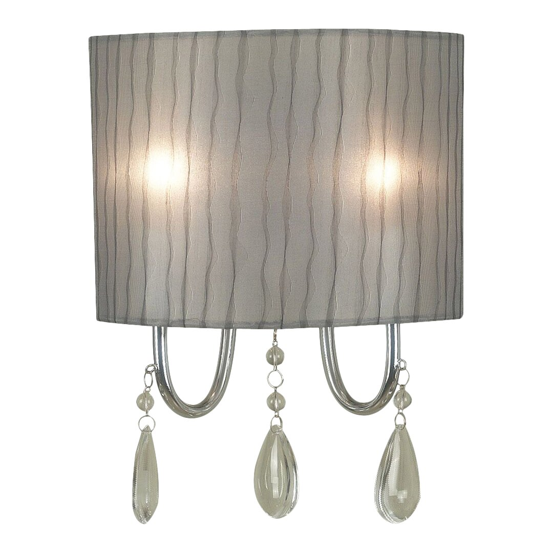 Wall Sconces At Wayfair : Wildon Home Arpeggio 2 Light Wall Sconce & Reviews Wayfair
