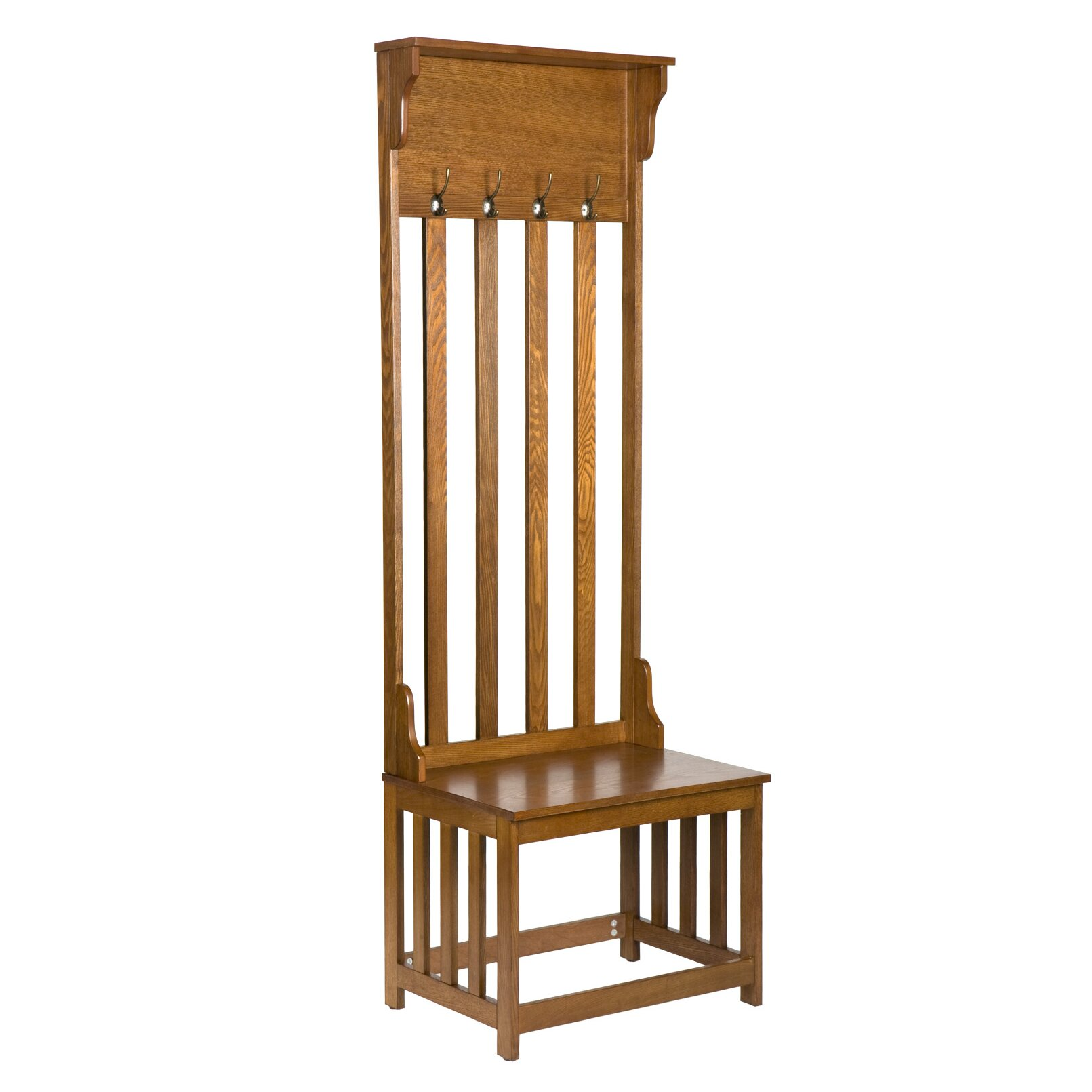 Wildon home locust hall tree reviews wayfair Mudroom bench and coat rack