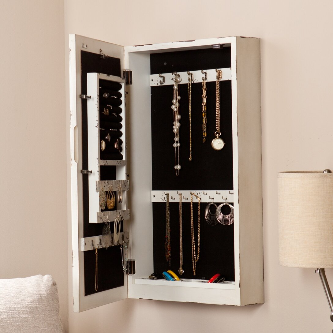 Wildon Home ® Davida Shabby Elegance Wall Mounted Jewelry ...