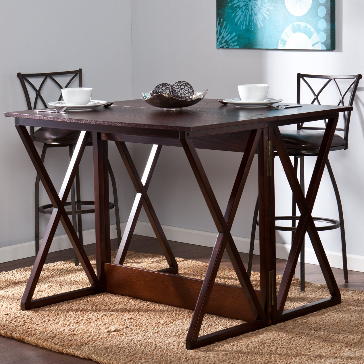 Wildon Home 174 Keraton Counter Height Extendable Dining  : Keraton Counter Height Extendable Dining Table WF3153 from www.wayfair.com size 1267 x 1267 jpeg 437kB
