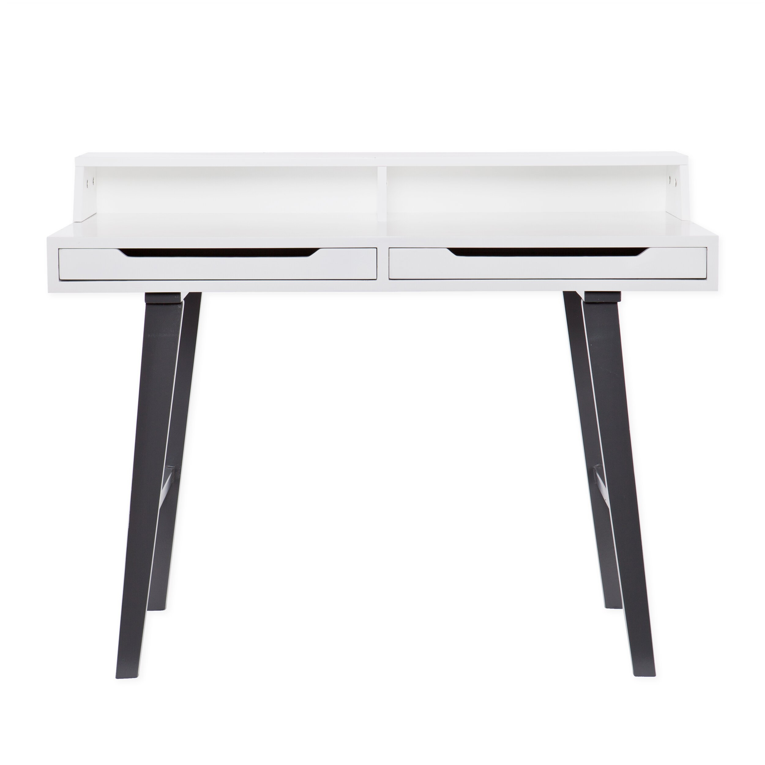 Amazing photo of Wildon Home ® Holly and Martin Writing Desk & Reviews Wayfair with #5A4E4D color and 2500x2500 pixels