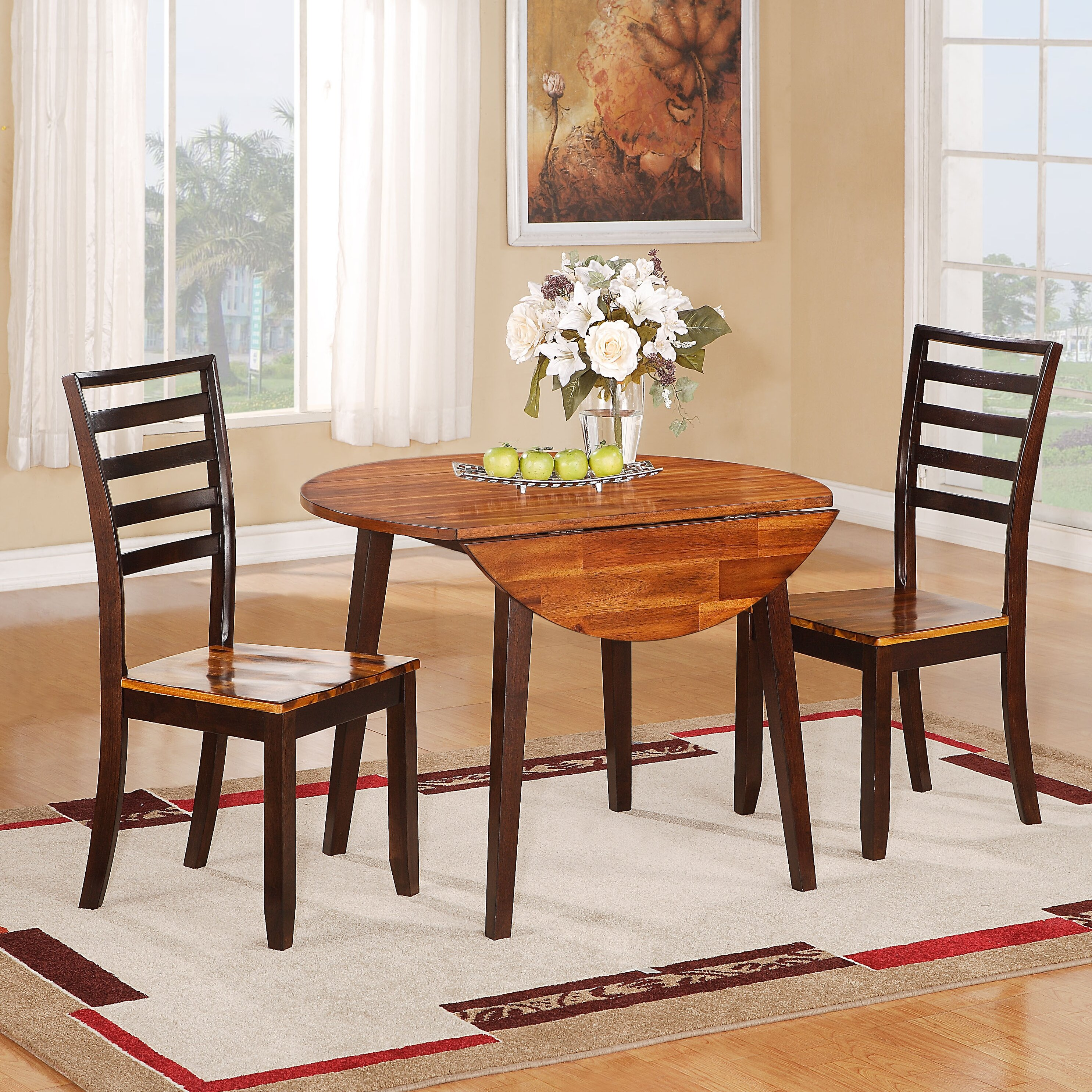 Wildon home extendable dining table reviews wayfair for Wildon home dining