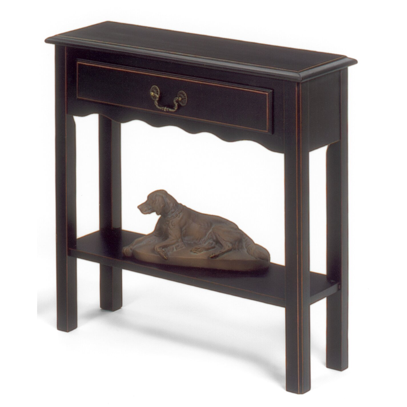 wildon home console table reviews wayfair. Black Bedroom Furniture Sets. Home Design Ideas