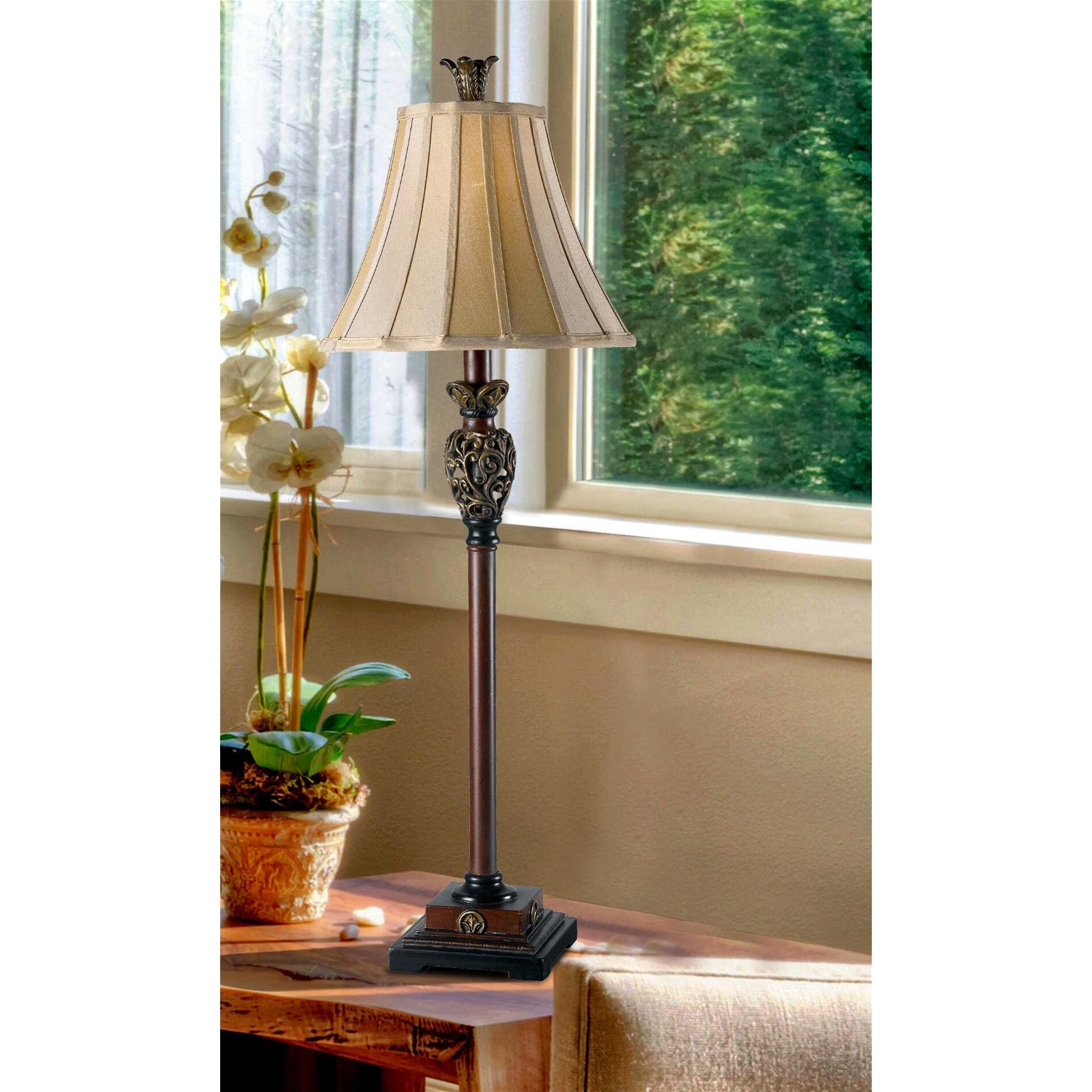 Wildon Home R Basile 32 Table Lamp Amp Reviews