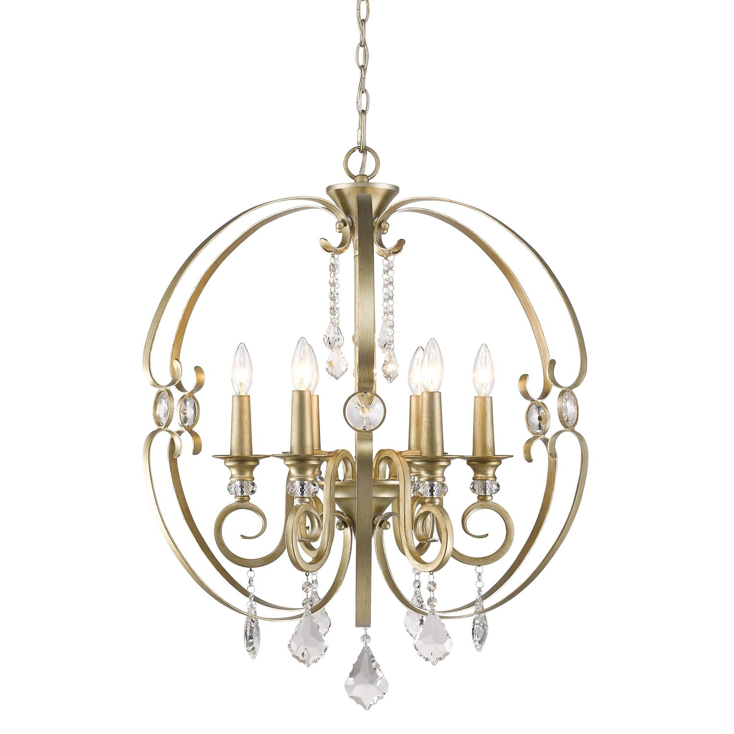 Wayfair Chandelier: Wildon Home ® Lizzie 6 Light Candle Chandelier & Reviews