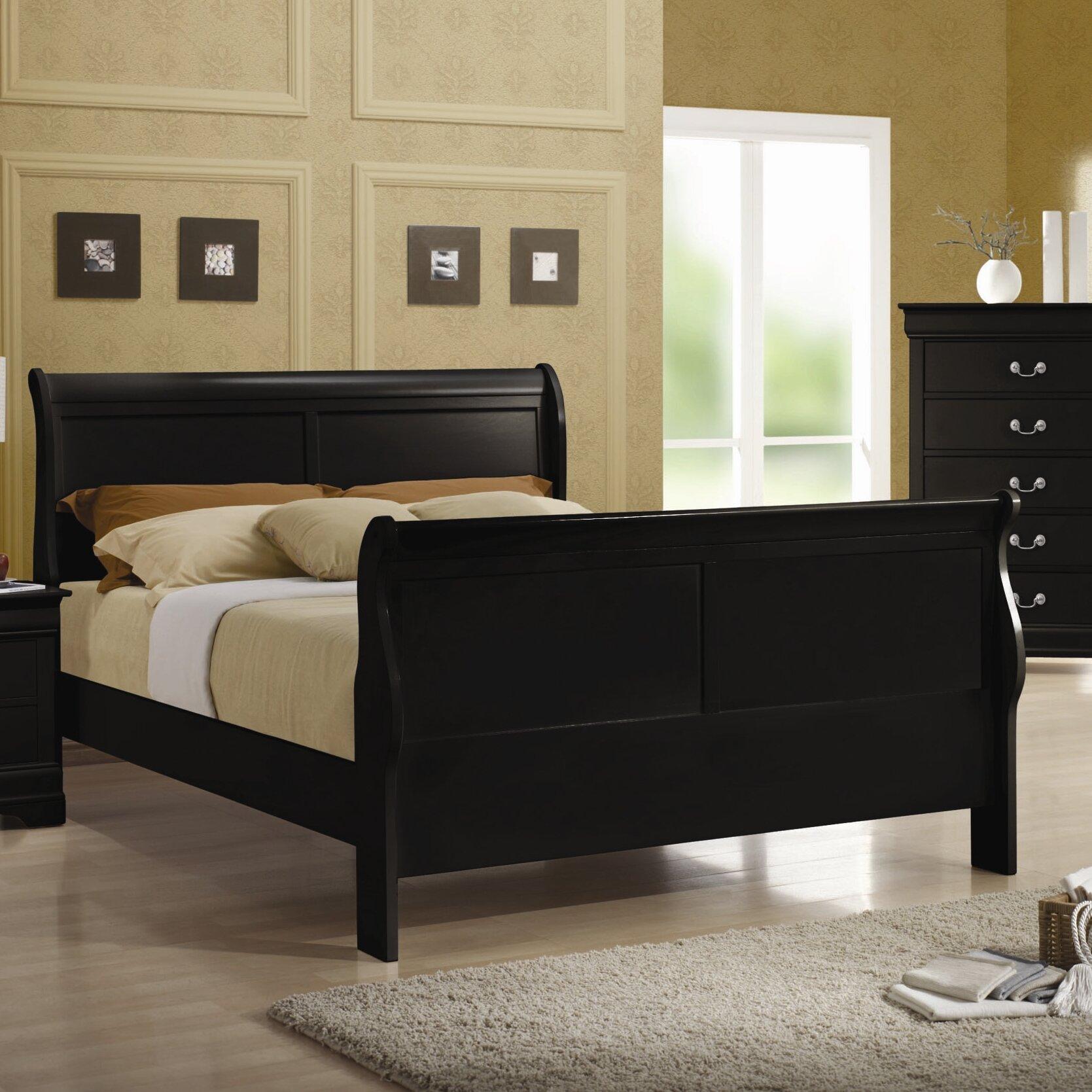 Alcott hill northampton sleigh bed reviews wayfair for Furniture northampton