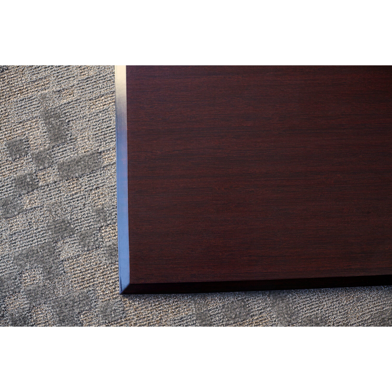 wildon home executive bamboo office chair mat reviews wayfair. Black Bedroom Furniture Sets. Home Design Ideas