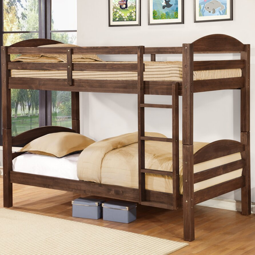 Wildon Home Alissa Twin Bunk Bed Reviews Wayfair