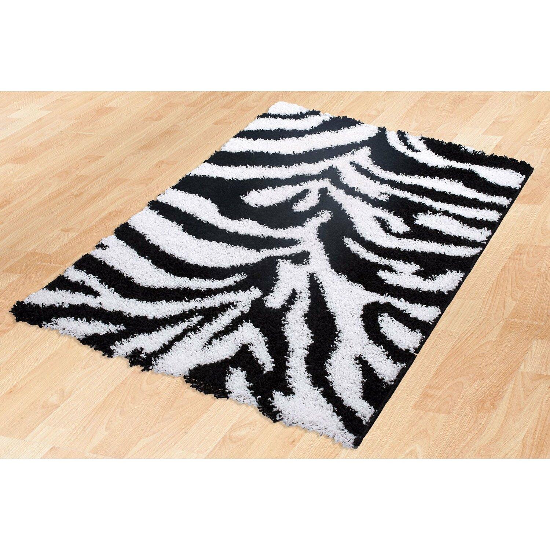 Animal Print Rug Wayfair: Wildon Home ® Candela Black/White Area Rug & Reviews