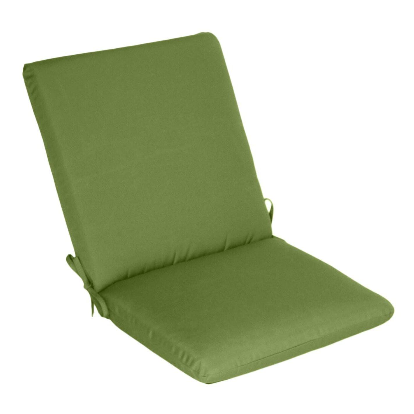 Wildon Home Outdoor Sunbrella High Back Cushion