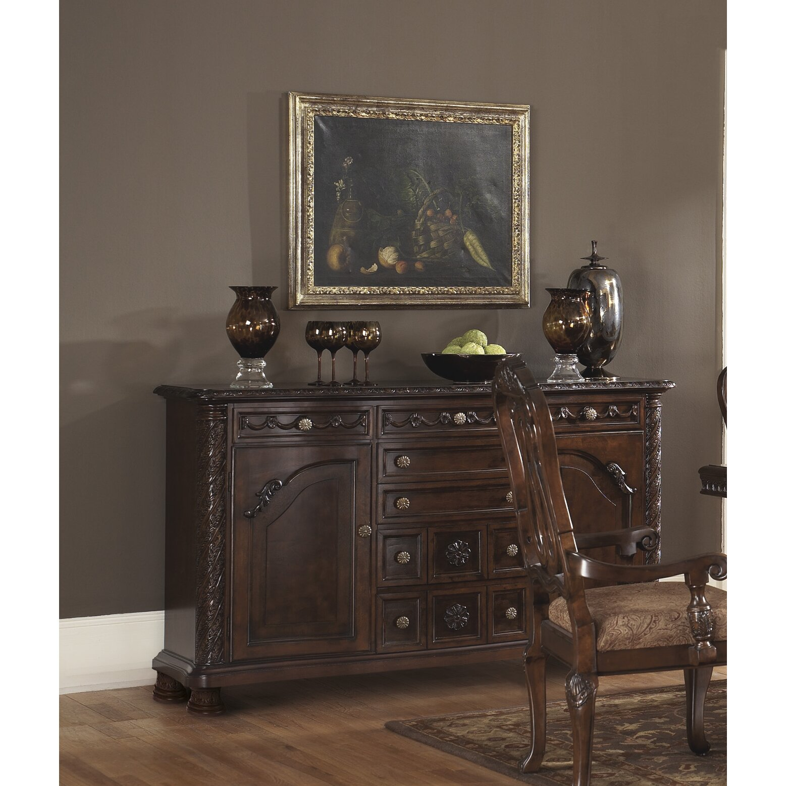 Wildon home north shore dining room server reviews for Dining room server