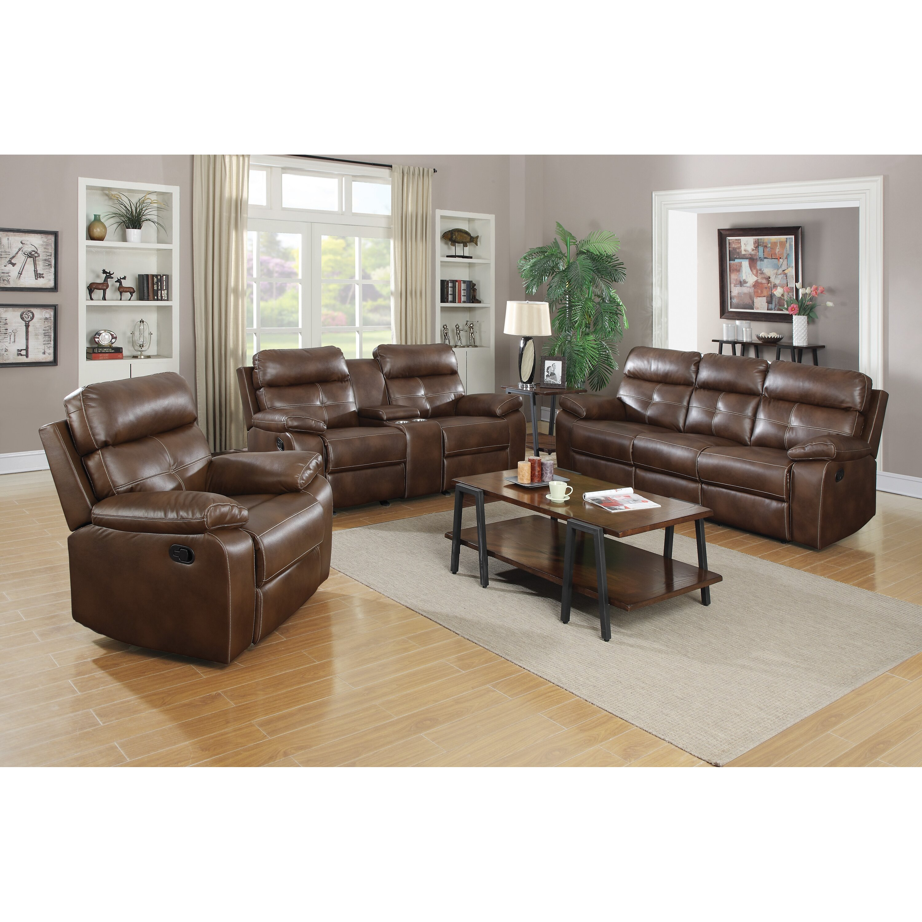 Wildon Home Damiano Motion Reclining Sofa Wayfair