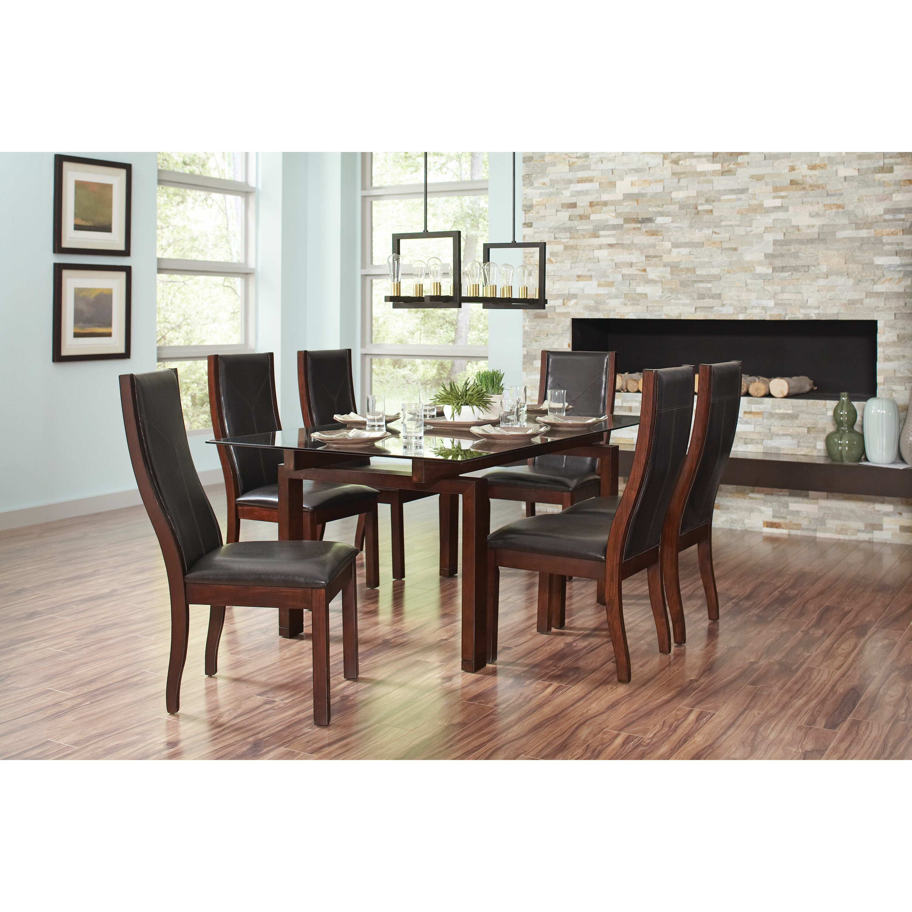 Wildon home rossine dining table for Wildon home dining
