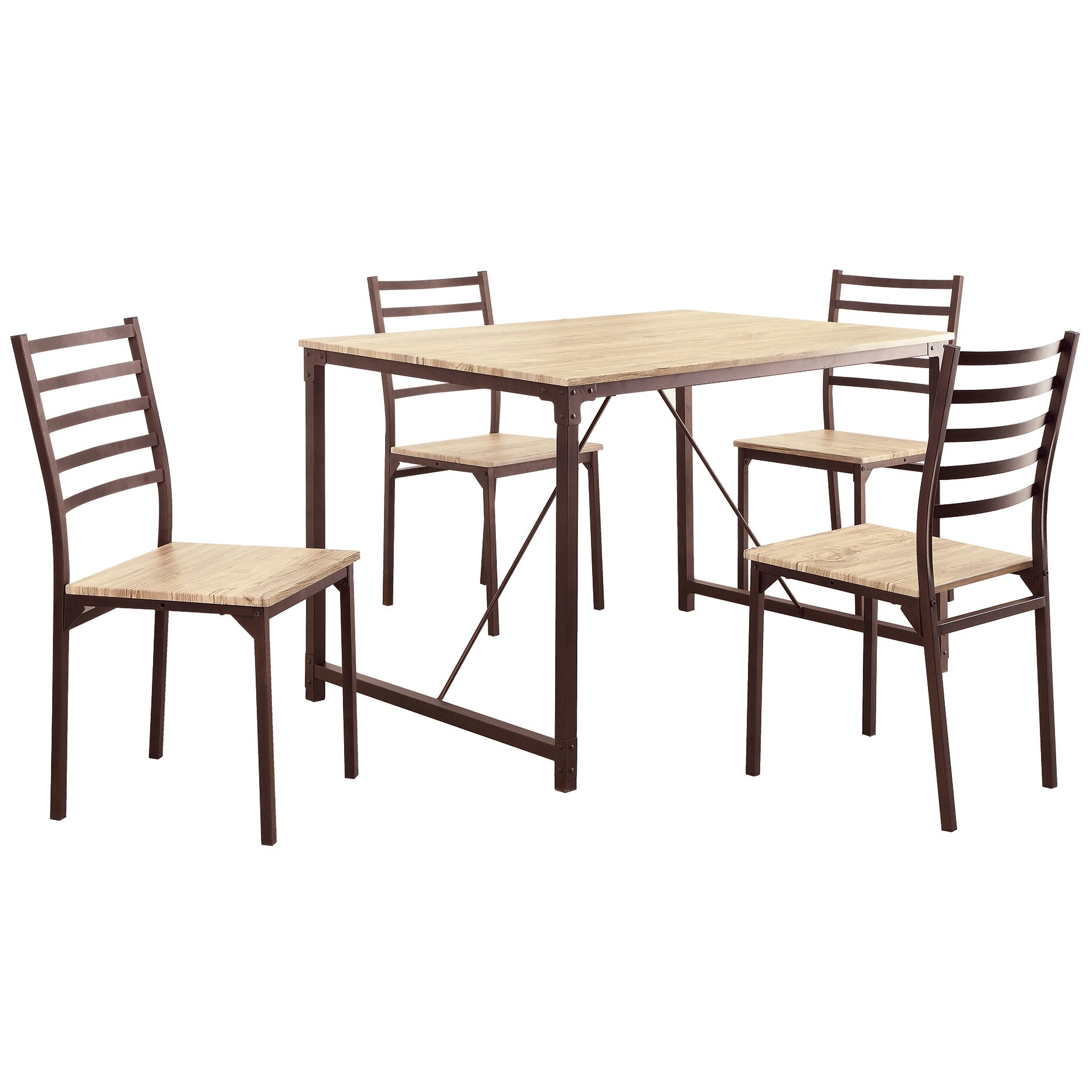 Wildon Home 5 Piece Dining Set Reviews Wayfair