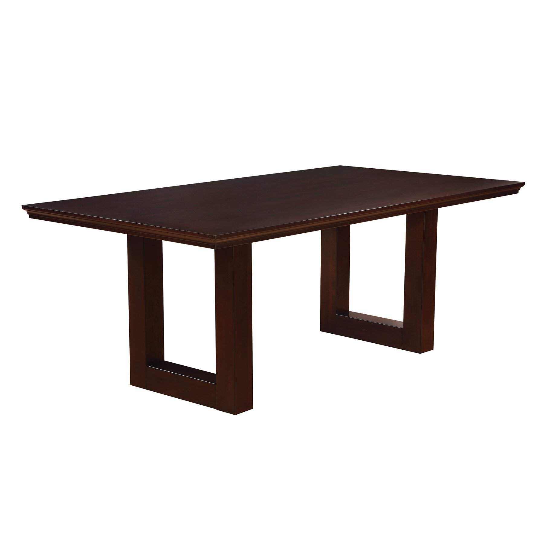 Wildon home chester group counter height dining table for Latest model dining table designs