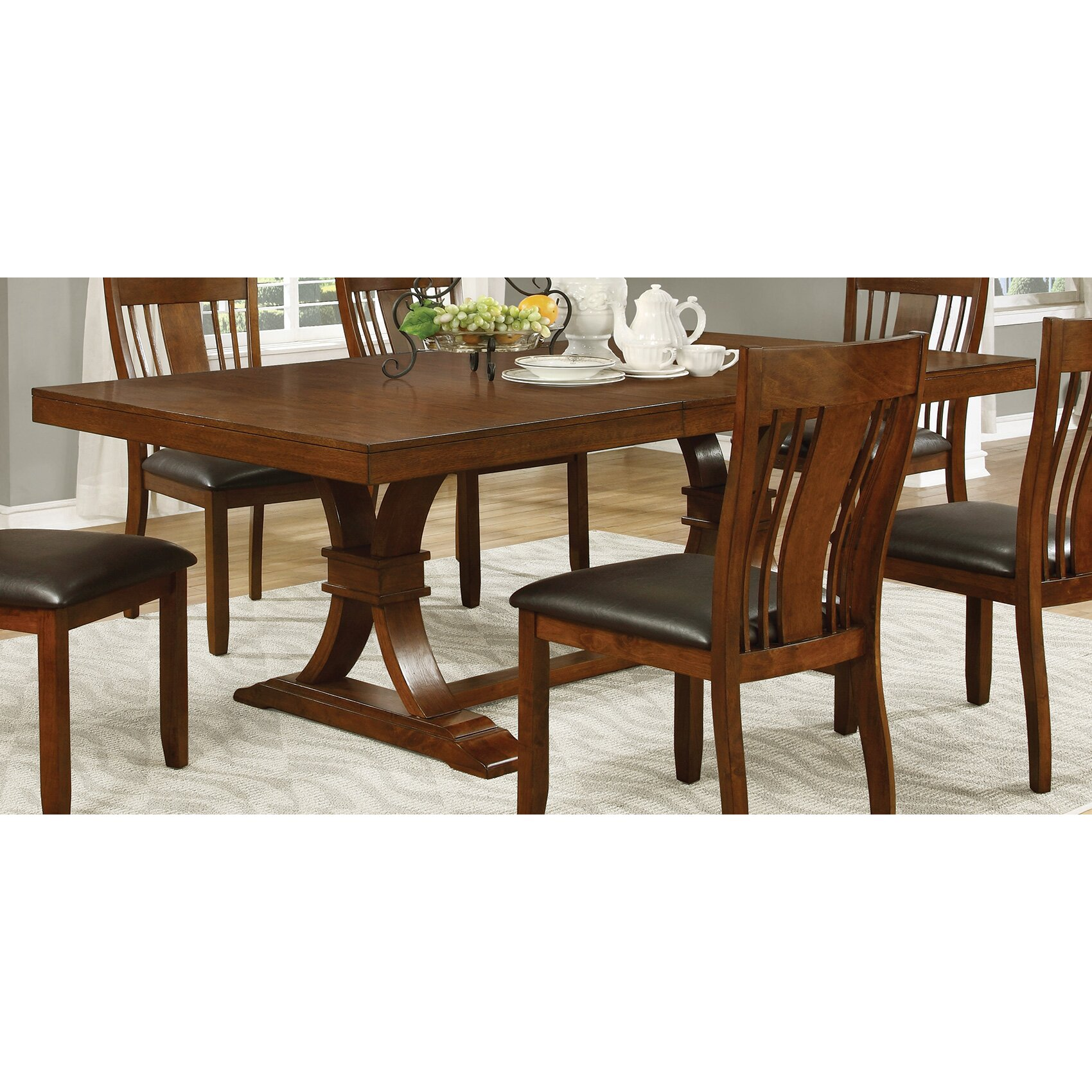 Wildon home abrams dining table reviews for Wildon home dining