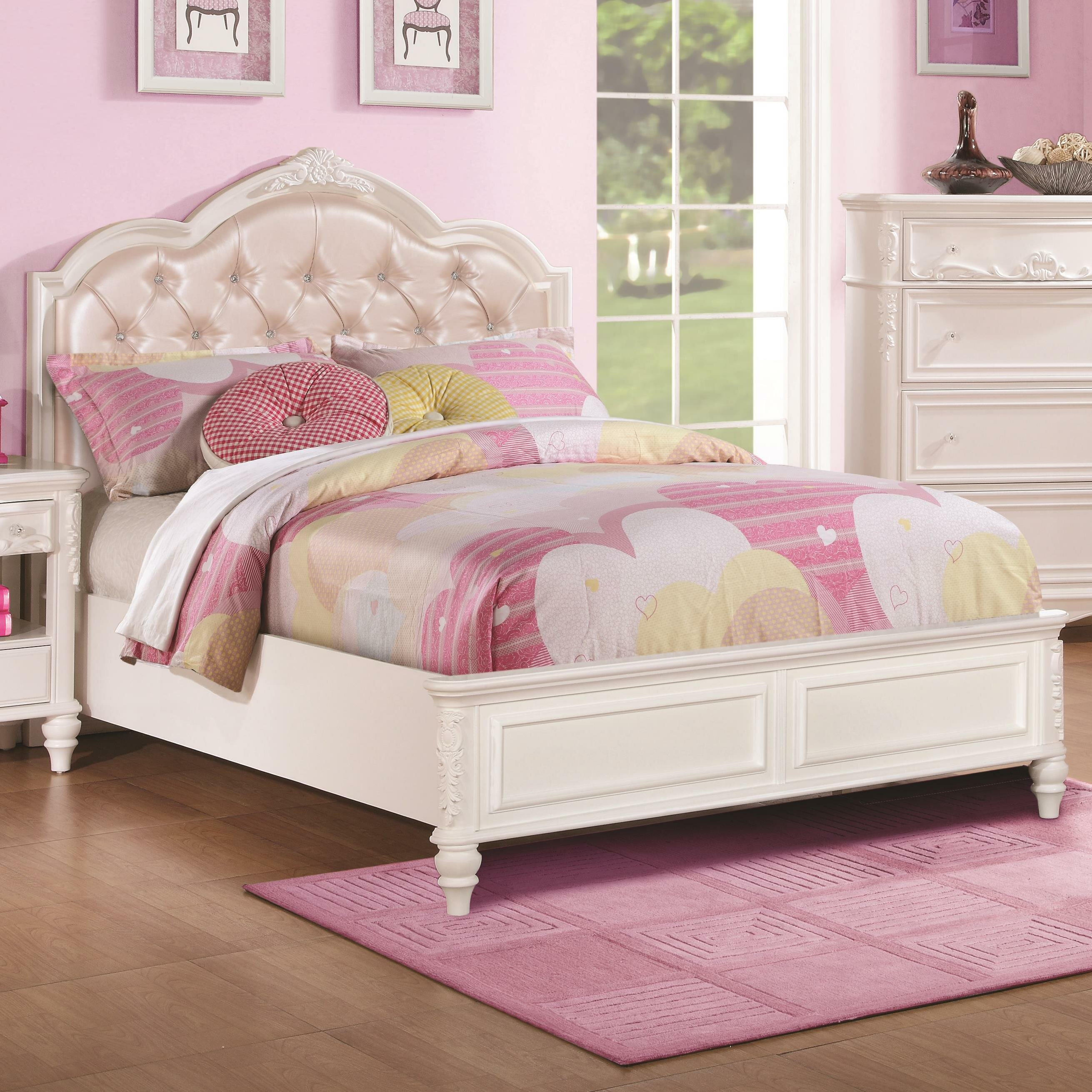 Wildon Home ® Caroline Panel Bed & Reviews | Wayfair