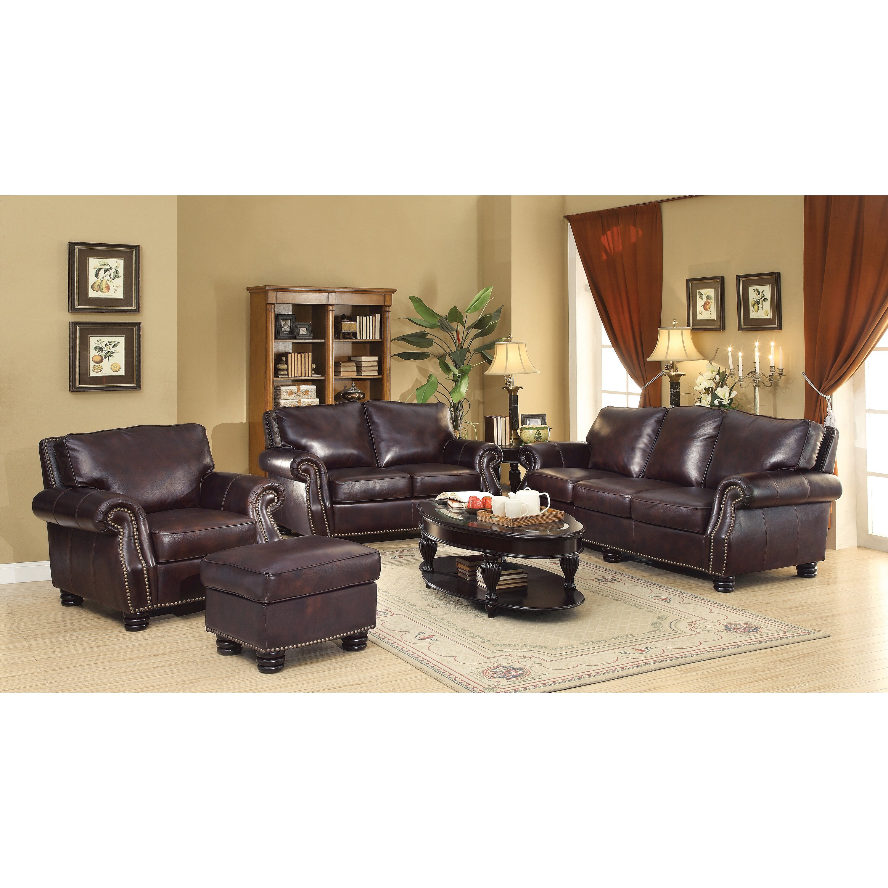 Wildon Home Briscoe Leather Modular Sofa Reviews Wayfair