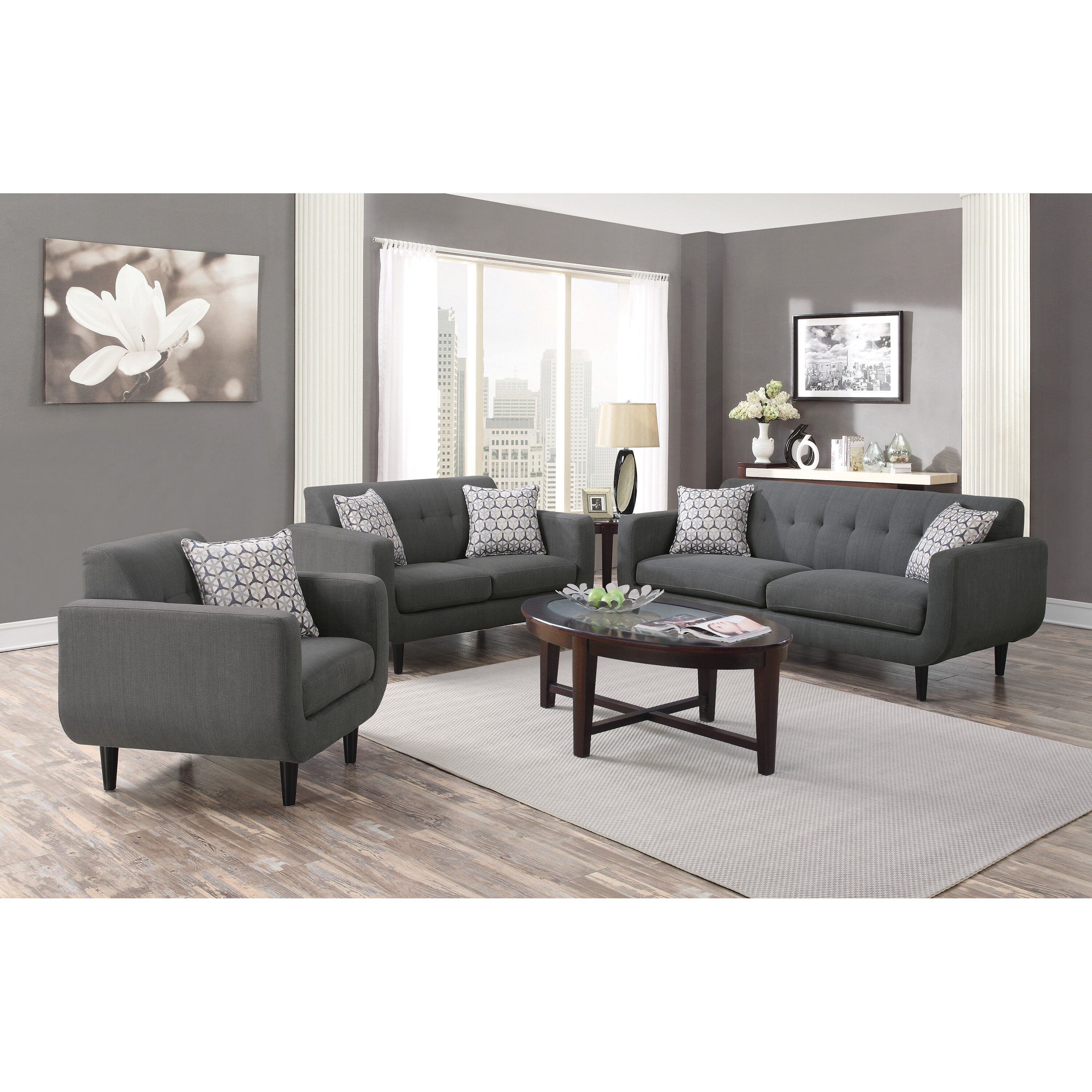 Wildon Home Stansall Living Room Collection Reviews