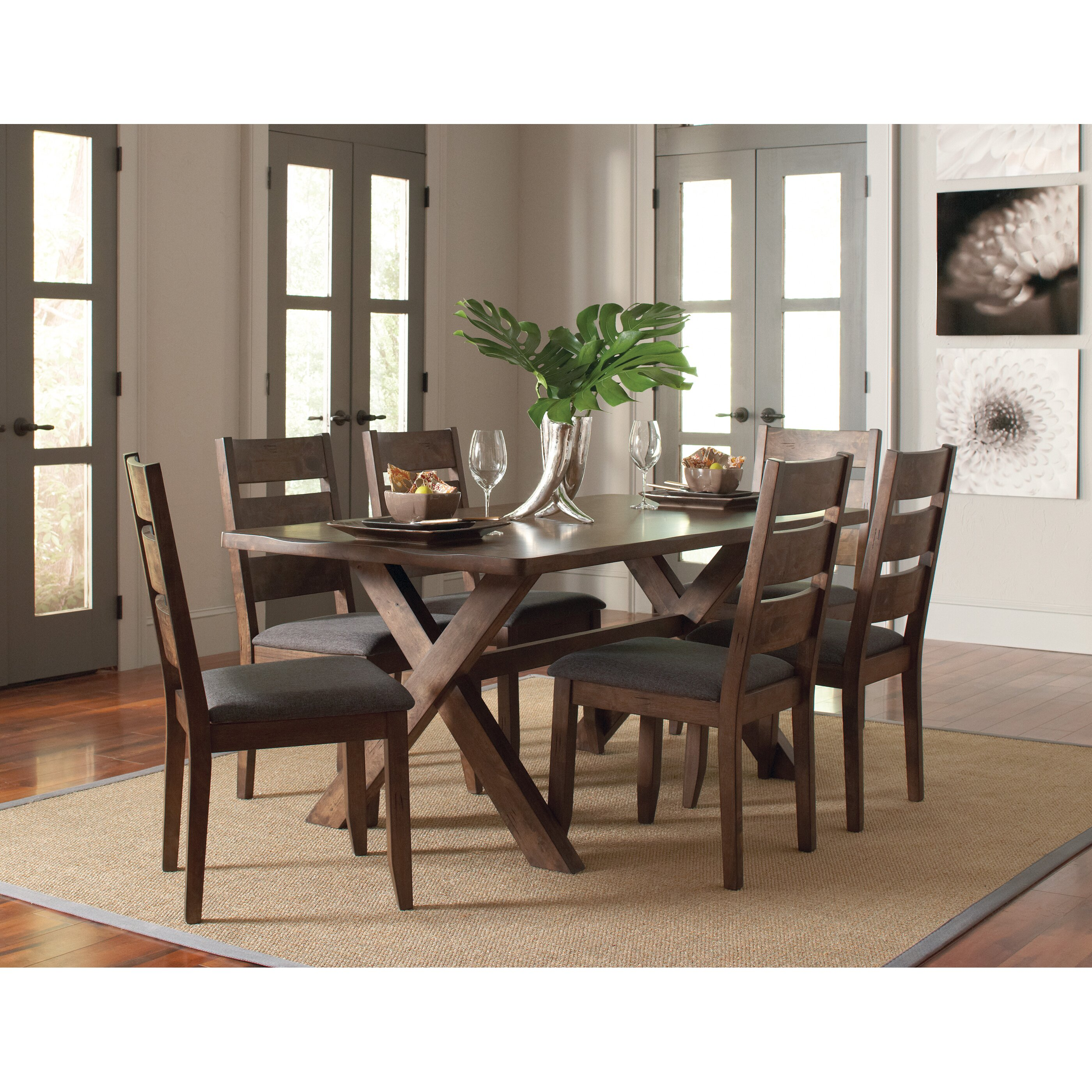 Wildon home allston dining table for Wildon home dining