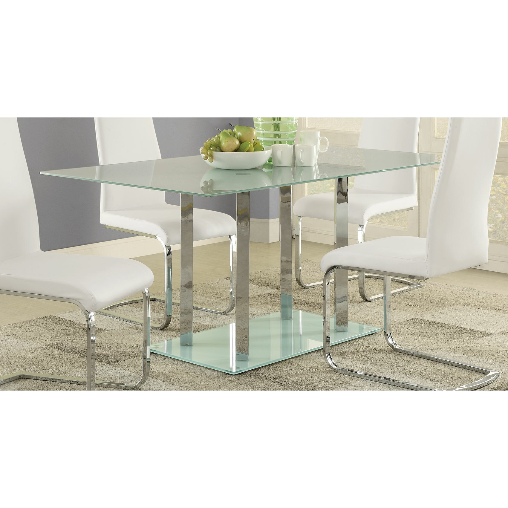Wildon home geneva group dining table reviews for Wildon home dining