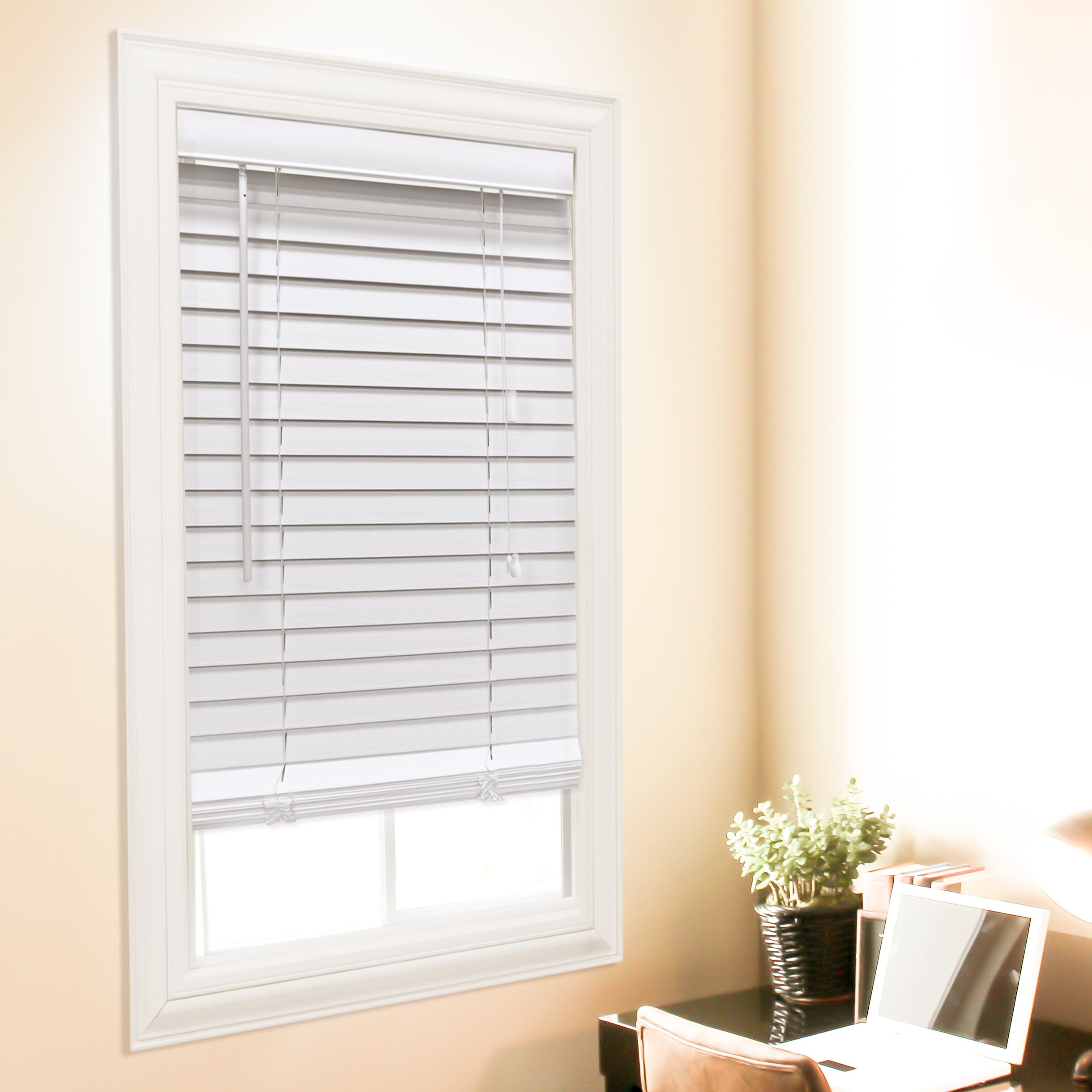 Wildon Home Faux Wood Venetian Blind Reviews Wayfair