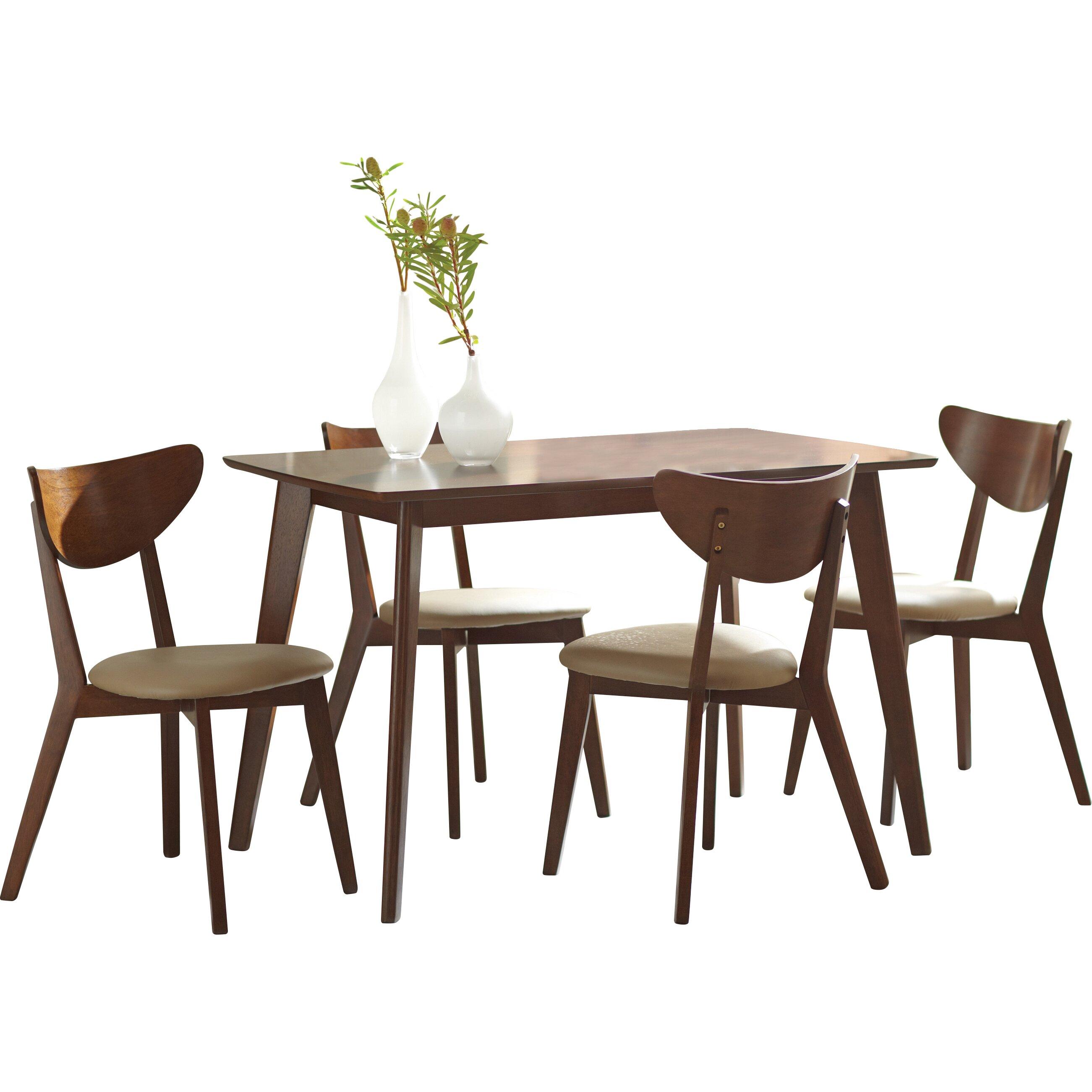 Wildon Home Dining Table Wildon Home 174 Montrose Dining  : Wildon Home 25C225AE Kersey Dining Table from amlibgroup.com size 2602 x 2602 jpeg 467kB