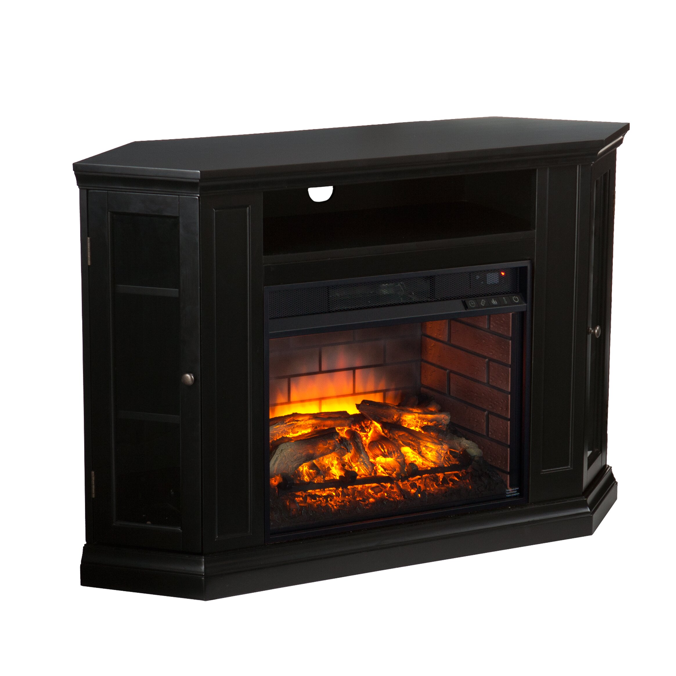 Wildon Home Chamberlain Convertible Media Infrared Electric Fireplace Reviews Wayfair
