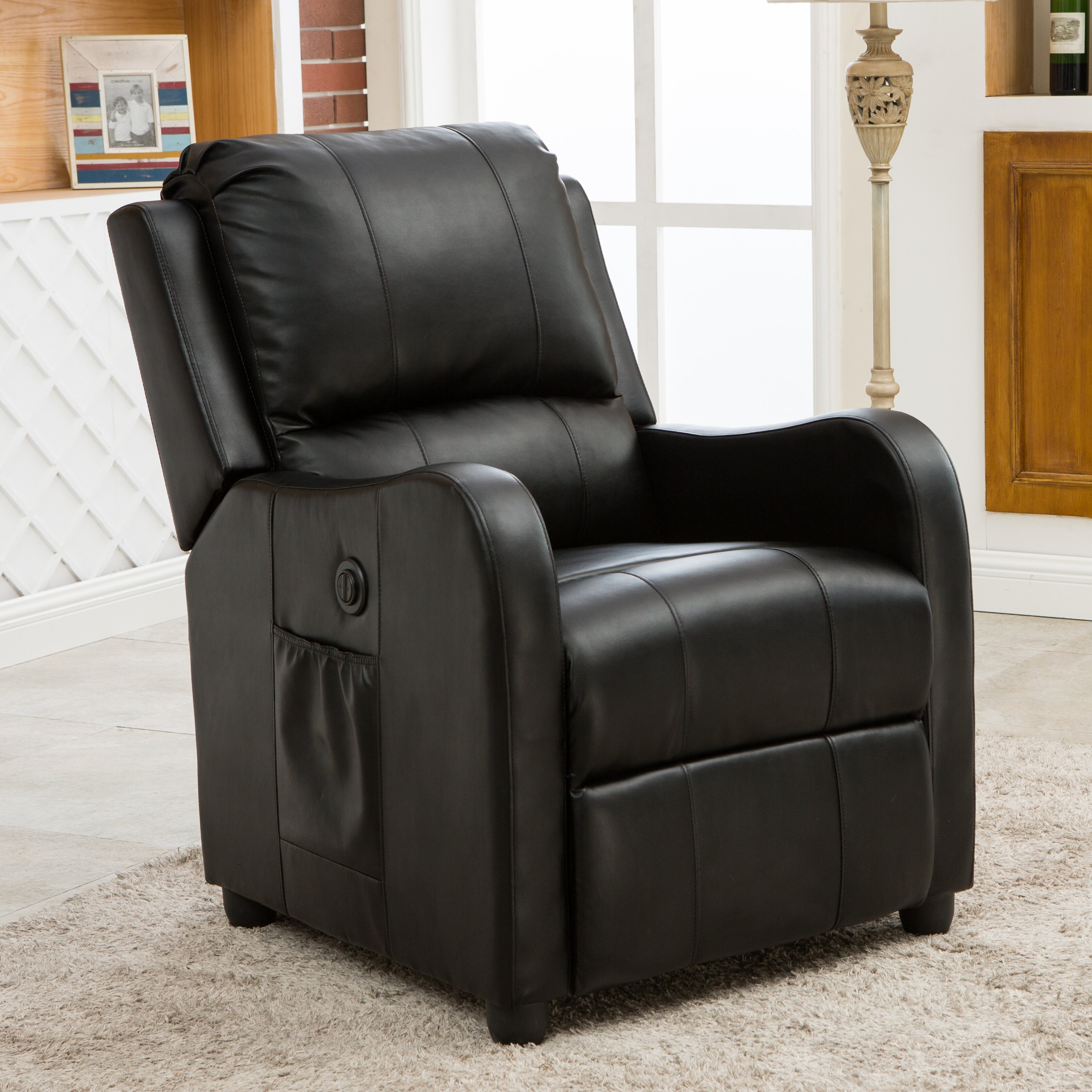 Wildon home denali power recliner reviews wayfair for Electric recliners reviews
