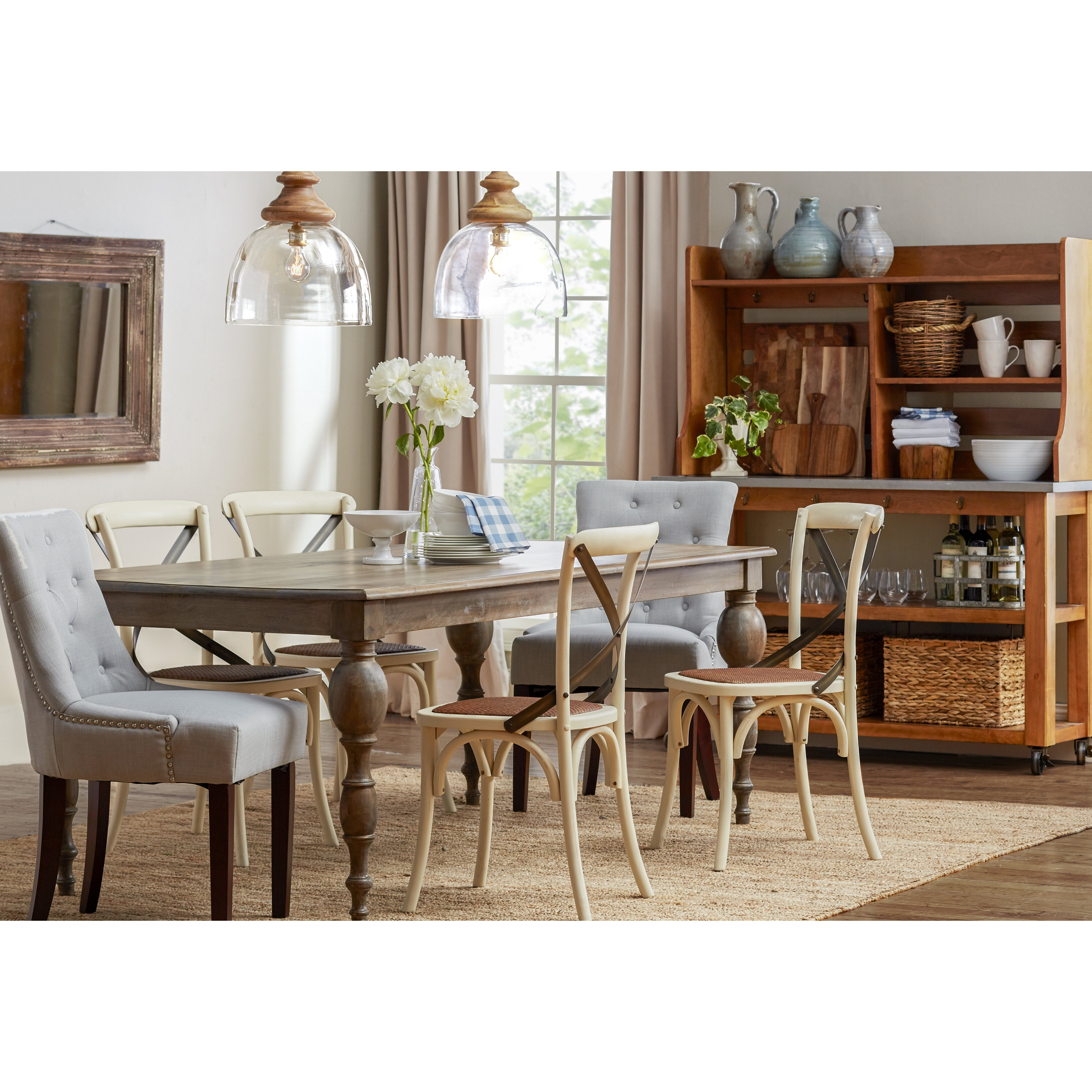 Wildon Home 174 Monticello Dining Table amp Reviews Wayfair : Barcelona Dining Table 1700414007 from www.wayfair.com size 4075 x 4075 jpeg 2602kB