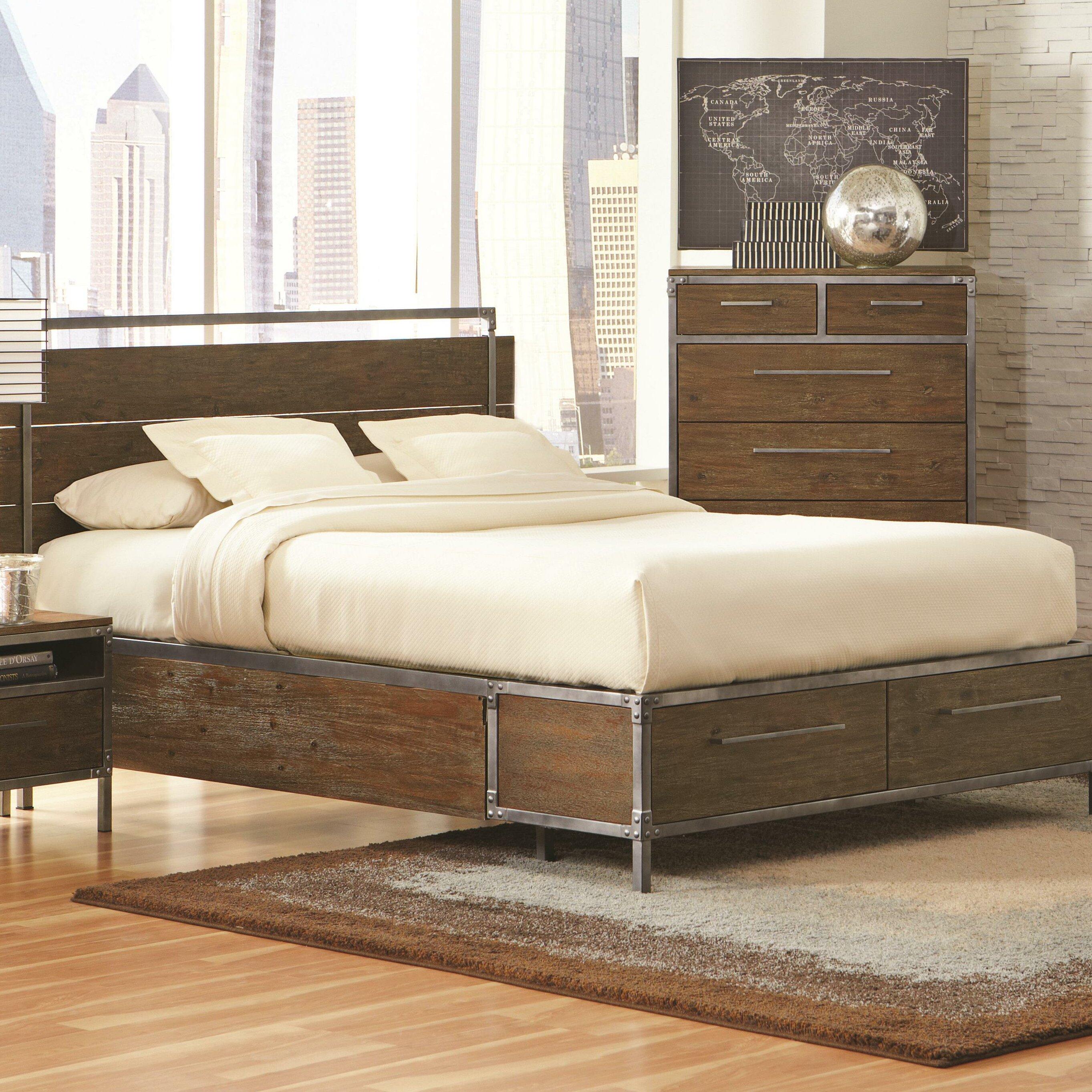 Wildon Home Arcadia Storage Platform Bed Reviews Wayfair