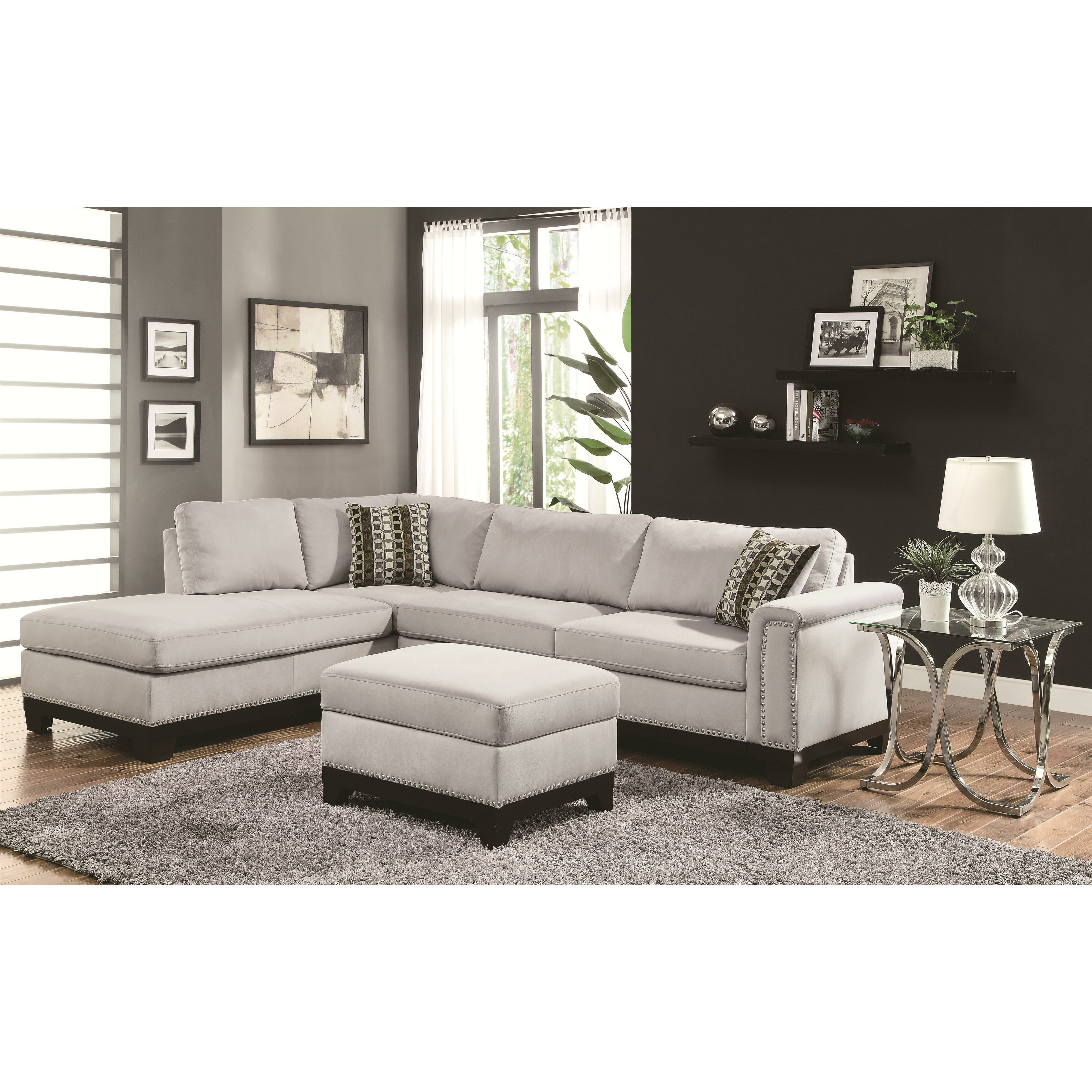 Wildon home r mason reversible chaise sectional reviews for Sectional sofa reversible chaise living room furniture