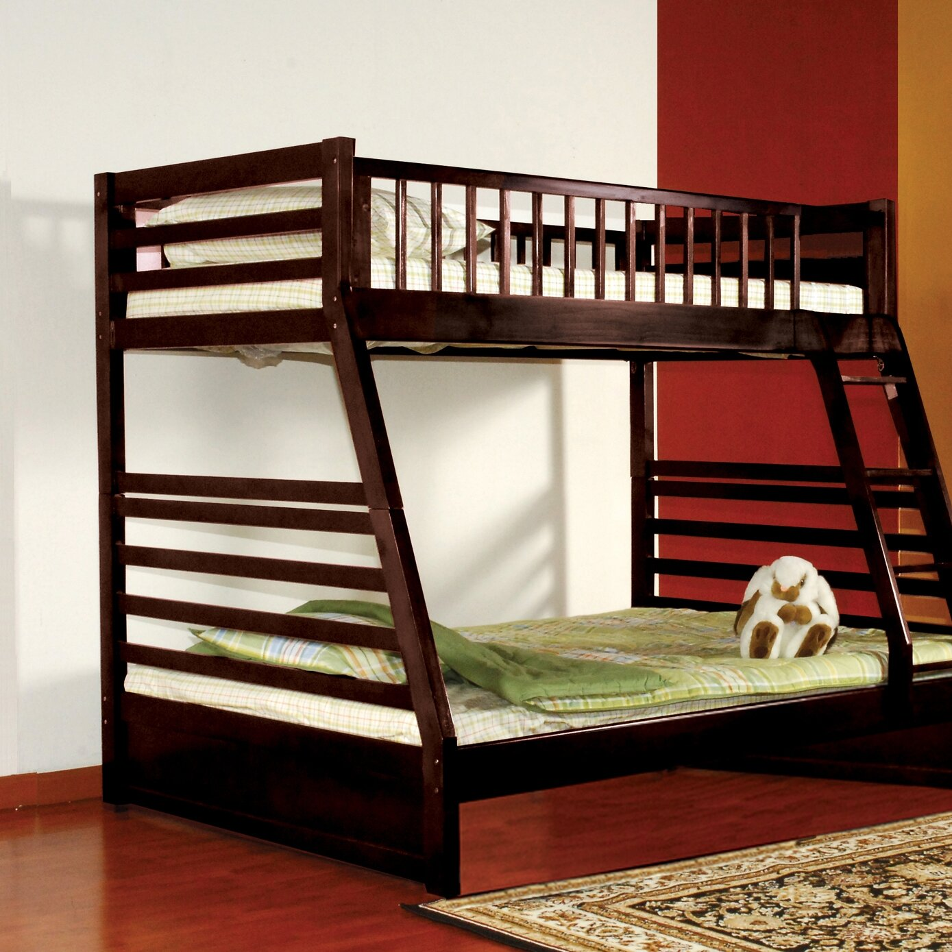 Wildon Home Dakota Twin Over Full Bunk Bed Reviews
