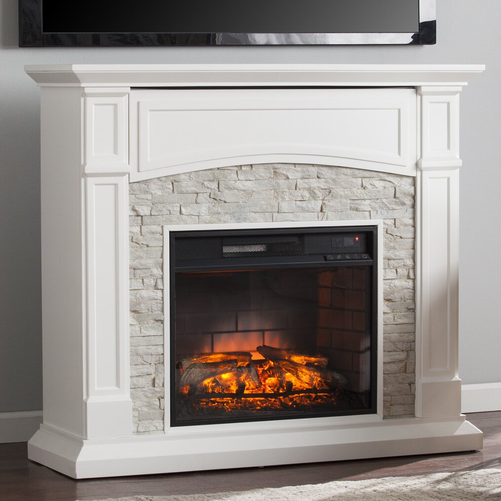 Wildon Home Sheldon Infrared Media Electric Fireplace Reviews Wayfair