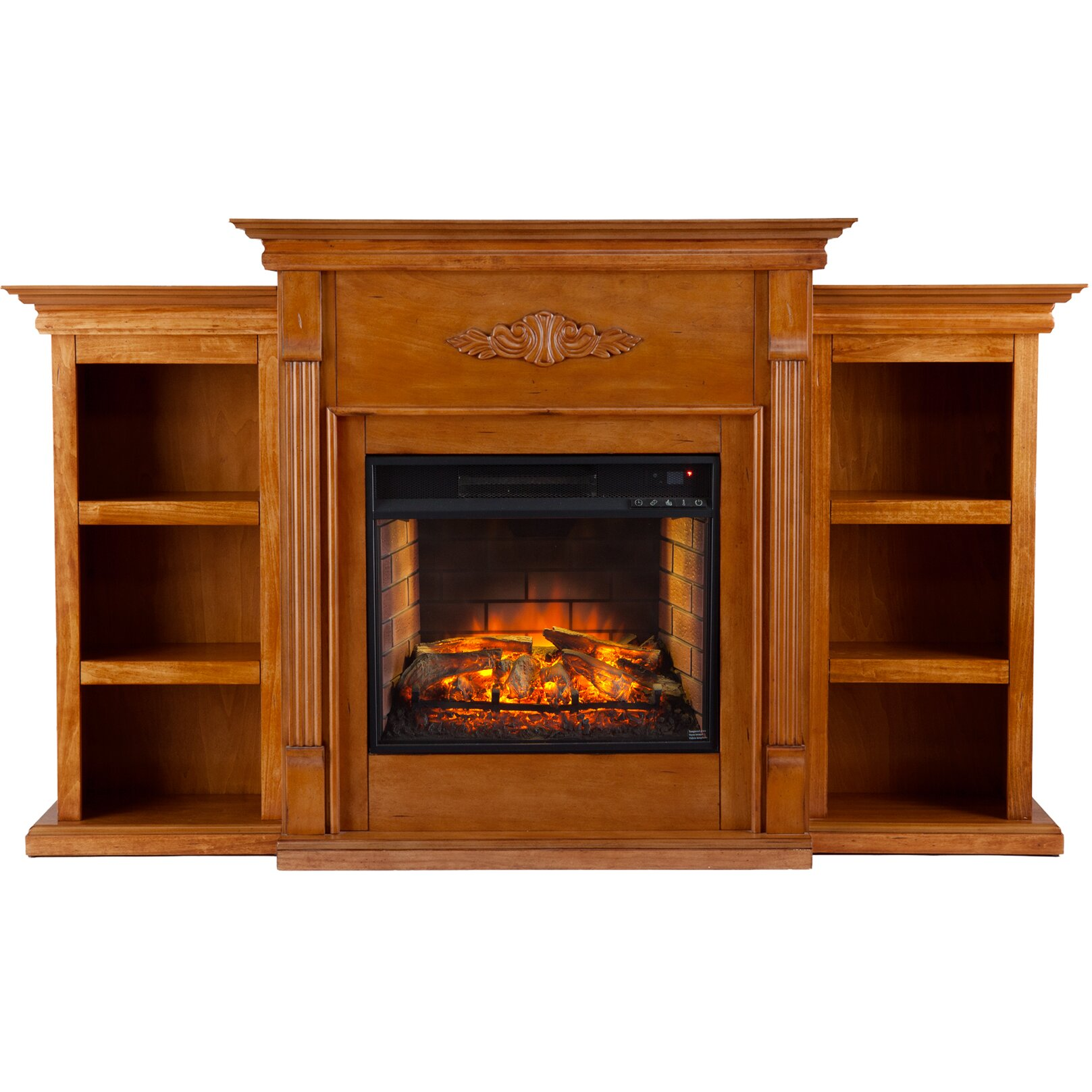 Wildon Home Tabor Infrared Electric Fireplace Reviews Wayfair