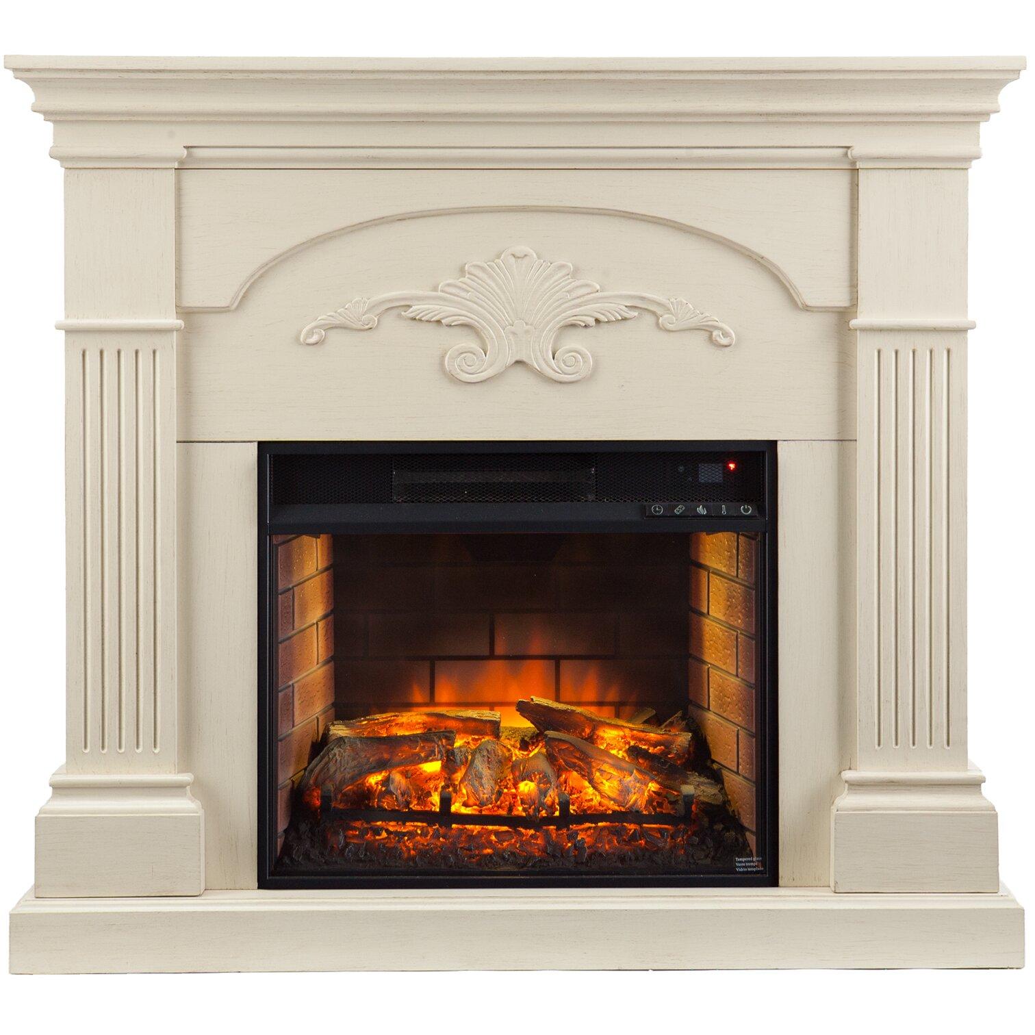 Wildon Home Stine Infrared Electric Fireplace Reviews Wayfair